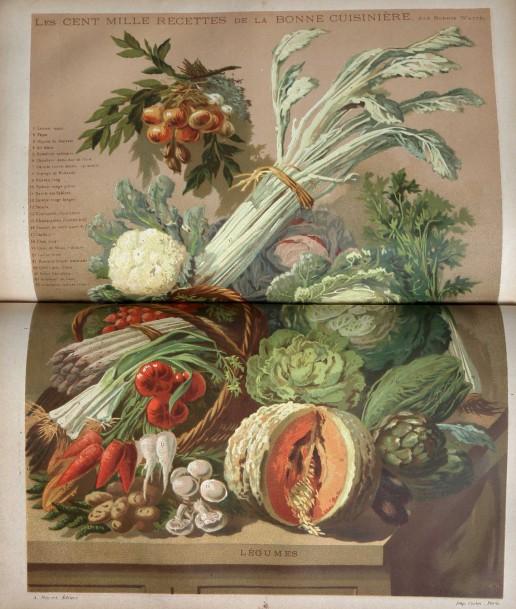 50€ Sophie Wattel, Les Cent mille recettes de la bonne cuisinière bourgeoise à la ville et à la campagne, Paris, Fayard, sans date (1886)