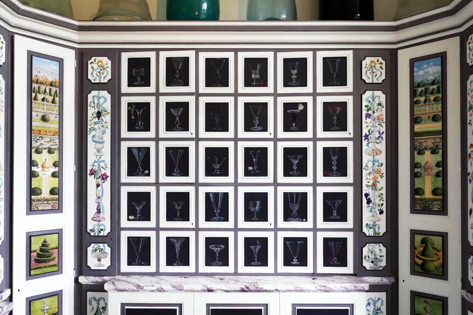 Le cabinet de verre de Barbara WirthChâteau de Brécy, Calvados