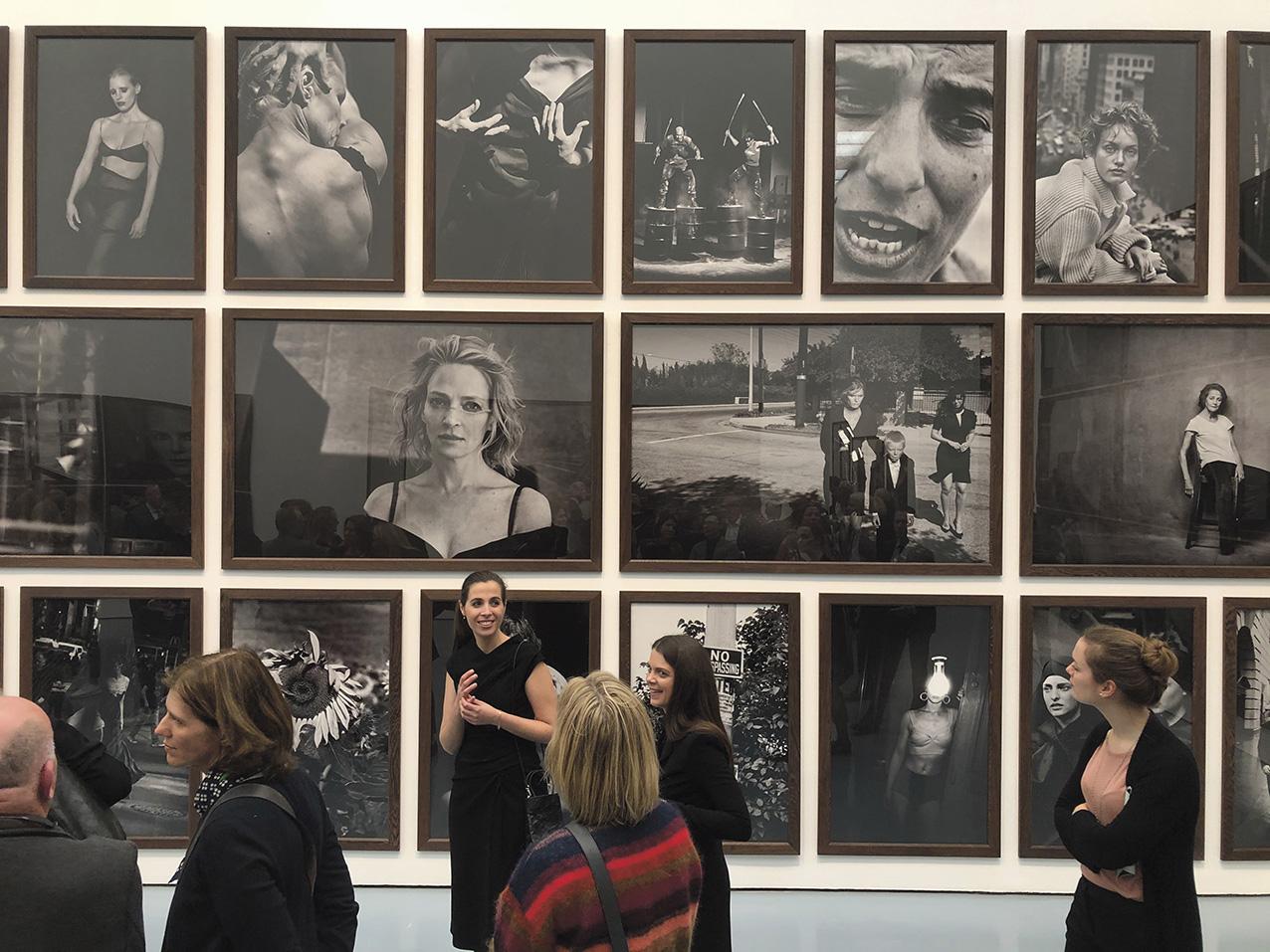 Tirages réalisés pour l'exposition «Peter Lindbergh» au Museum Kunstpalast de Düsseldorf, 2020.