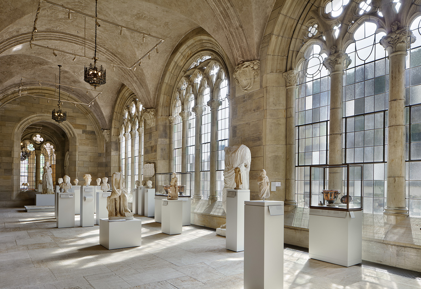 View of the ancient art galleries, Yale University Art Gallery.Photo: Elizabeth Felicella