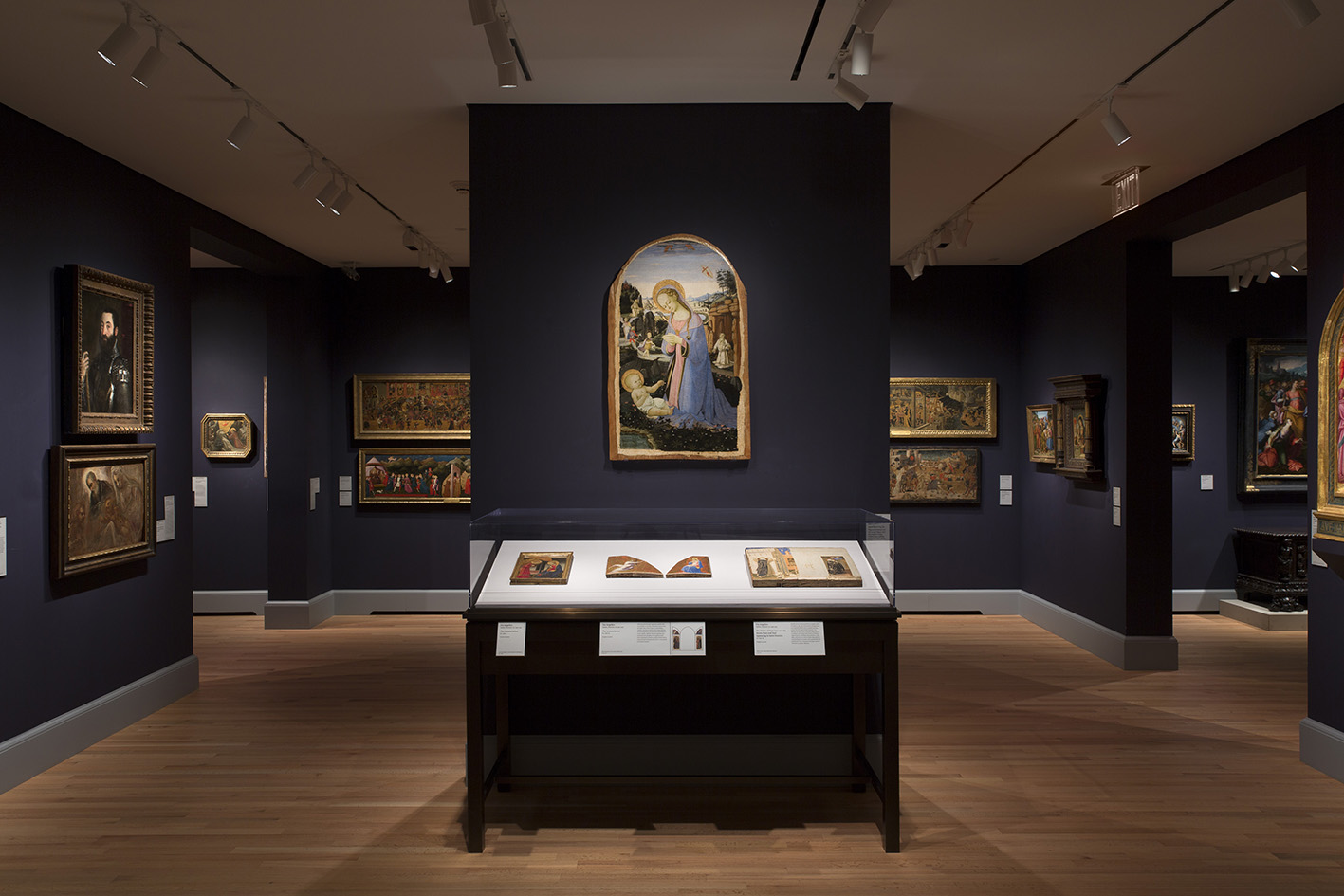 View of the European art galleries, Yale University Art Gallery.Photo: Jessica Smolinski