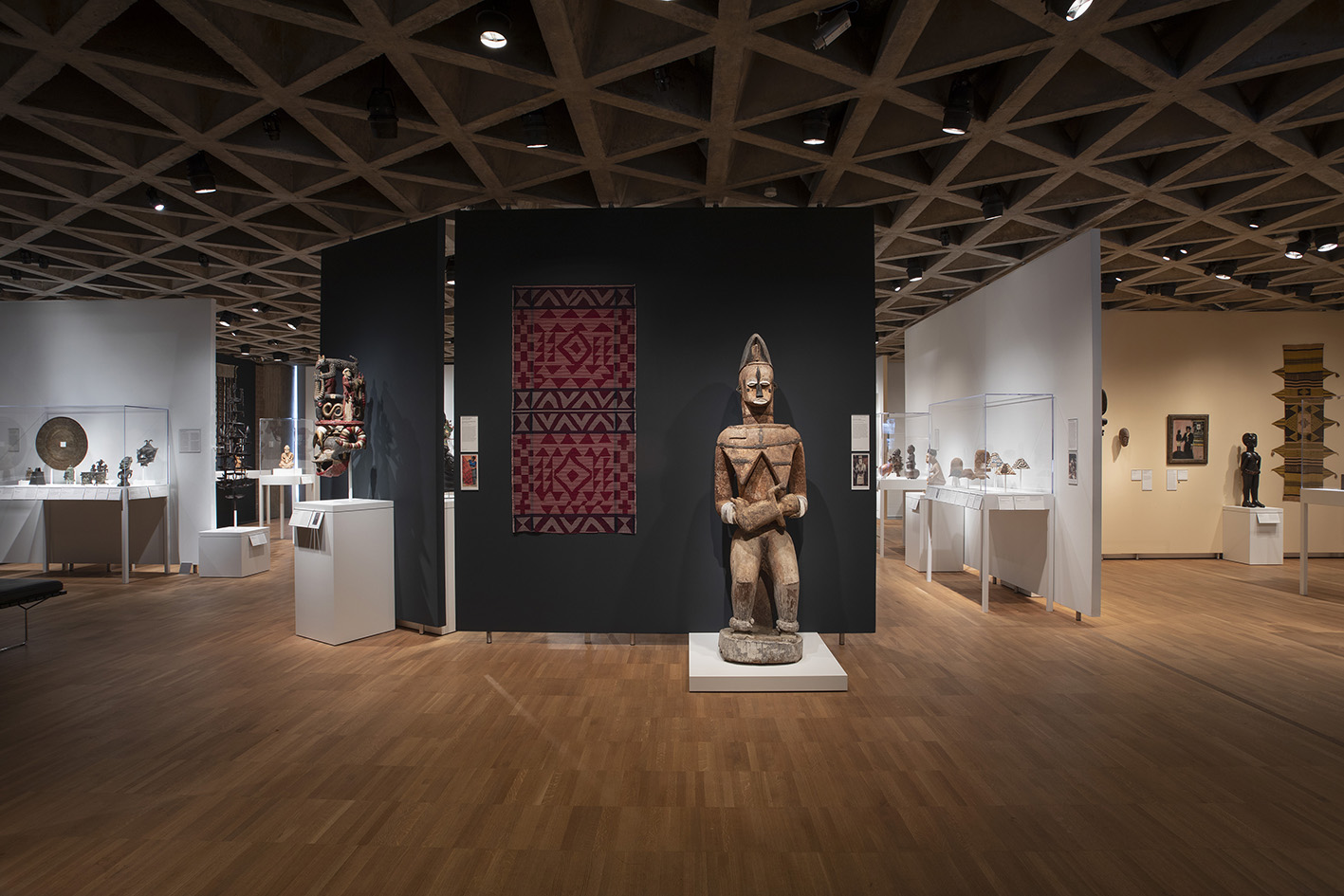 View of the African art galleries, Yale University Art Gallery.Photo: Jessica Smolinski