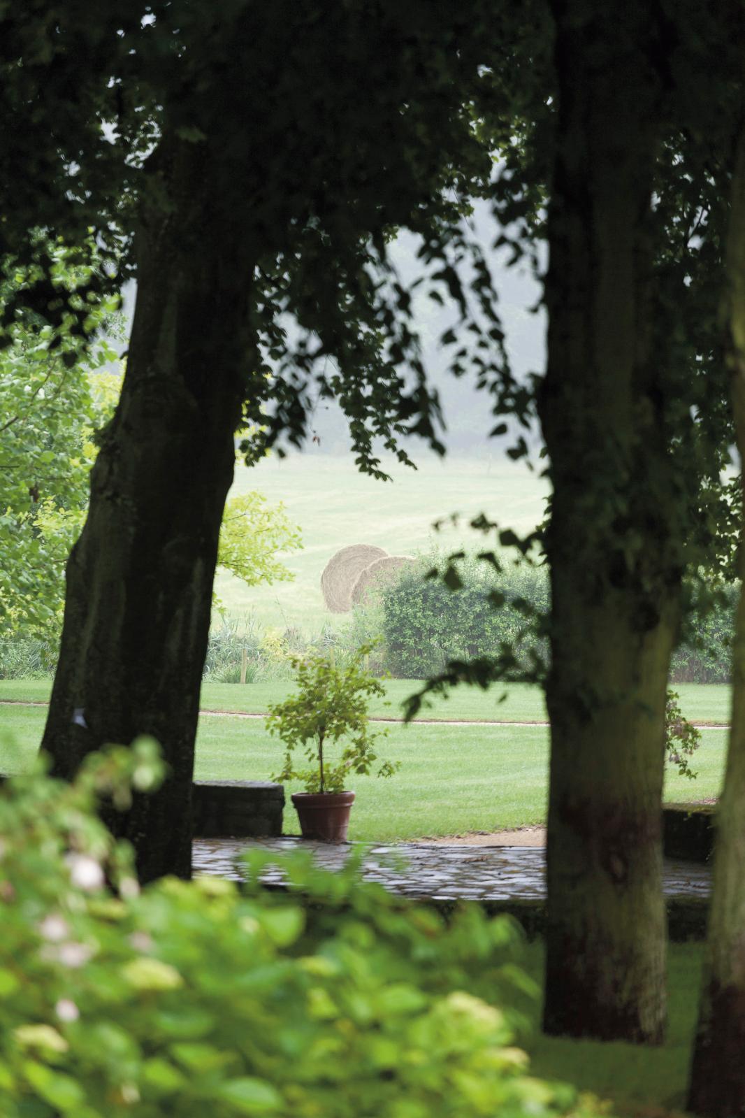 Le jardin du château de Pange, en Moselle. © Éric Sander