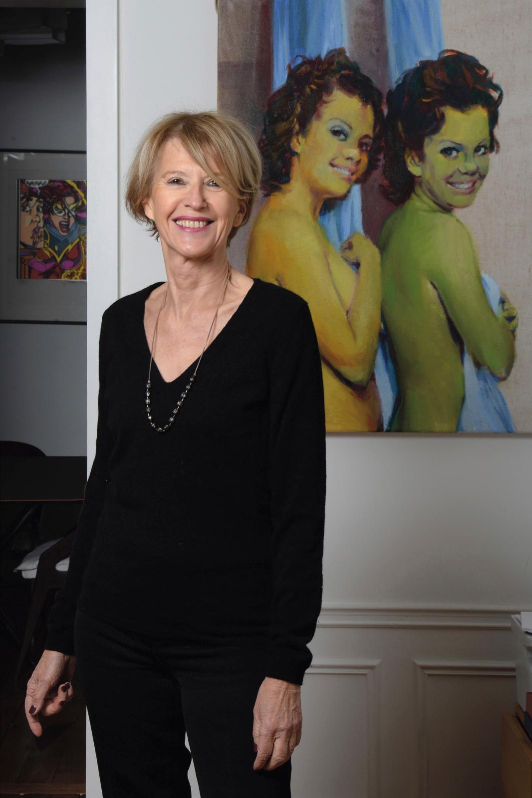 Colette Barbier, directrice de la Fondation d'entreprise Pernod Ricard. ©POLY