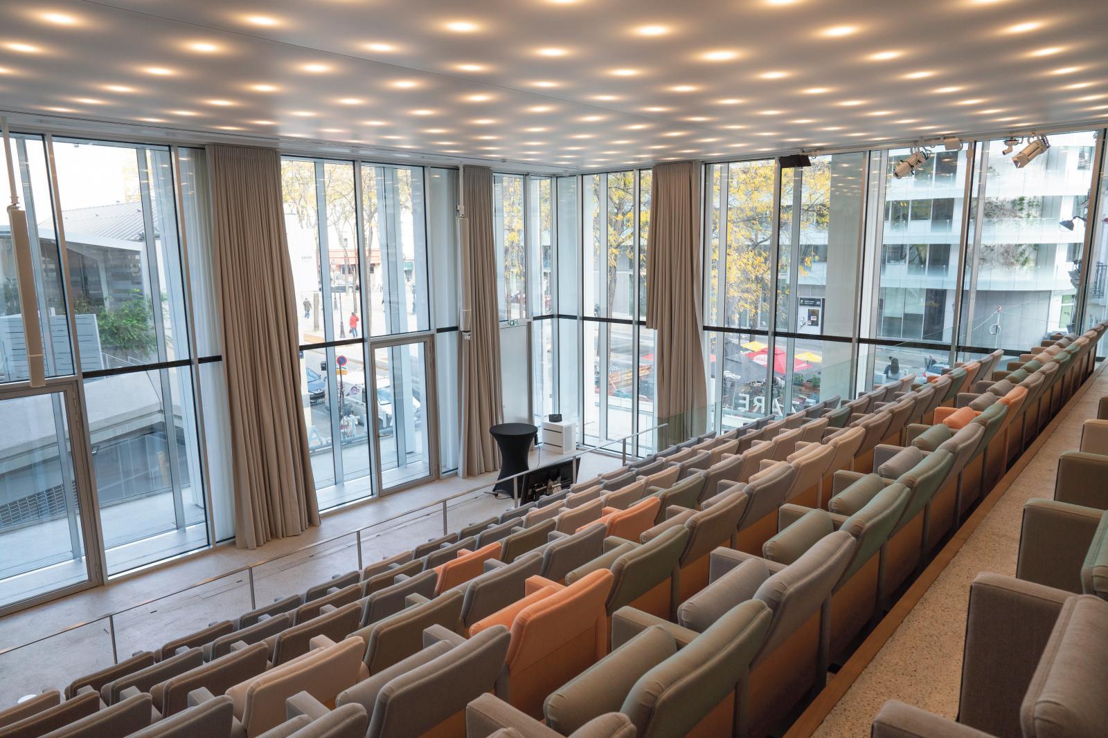 L'auditorium de la fondation. ©FONDATION D'ENTREPRISE PERNOD RICARD
