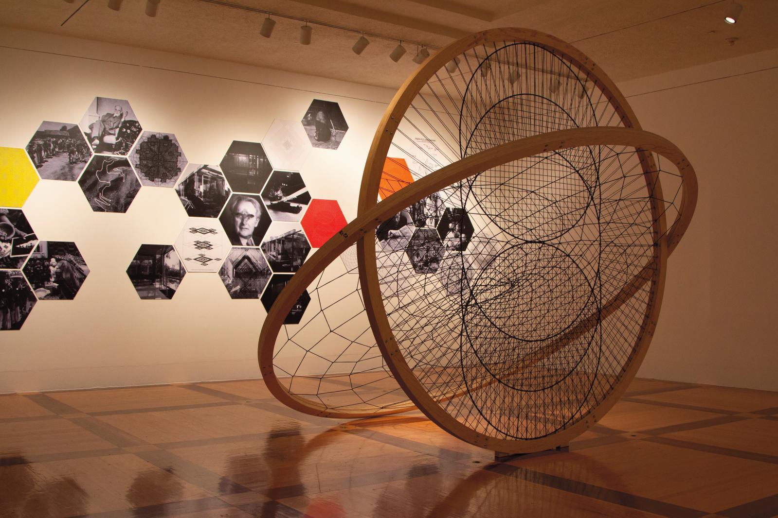 Vue de l'exposition «Santiago Borja. Premier contact», au Quadrilatère. © Laurent Kronental