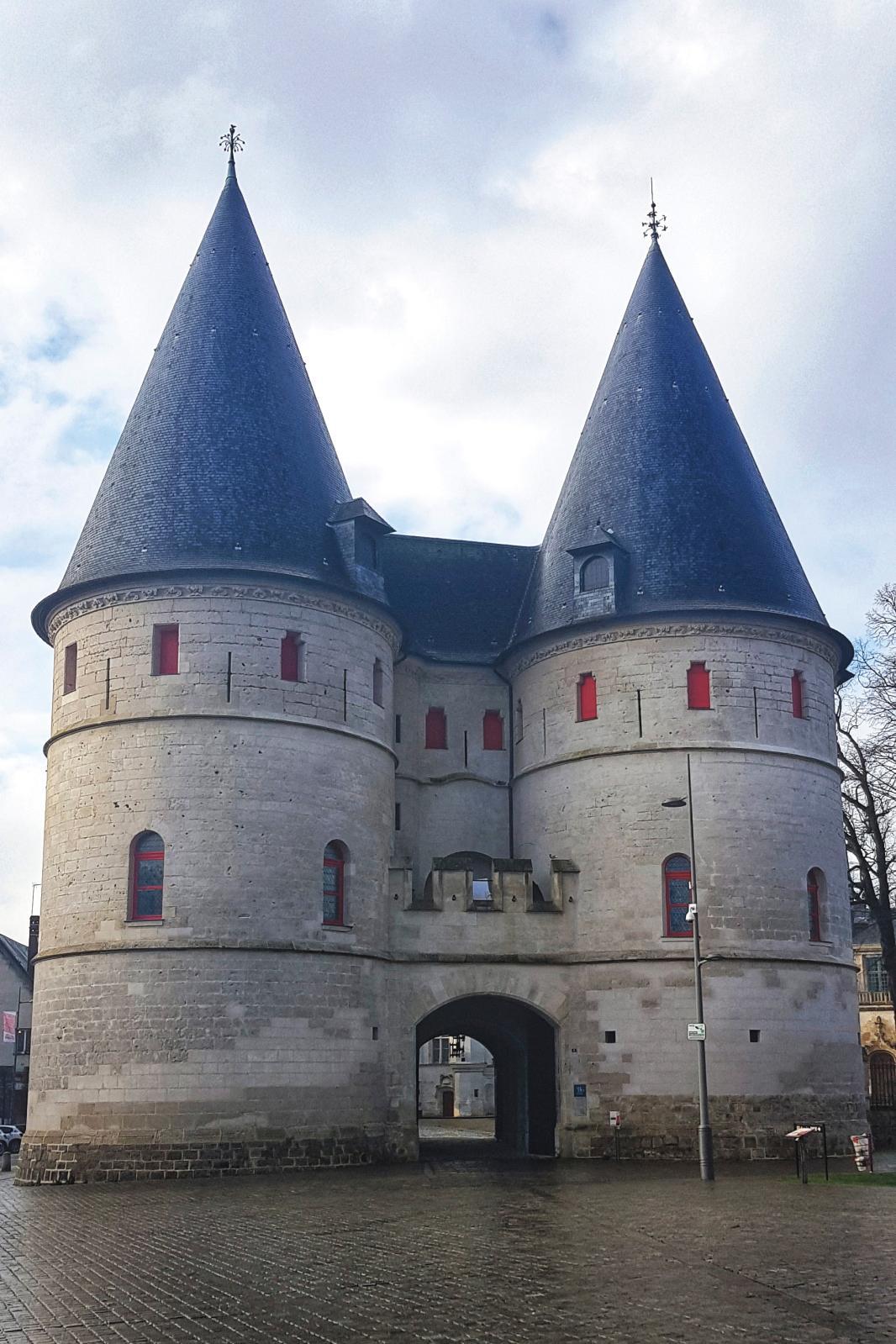 Le Mudo, musée de l'Oise, dans l'ancien palais épiscopal de Beauvais.© Sarah Hugounenq