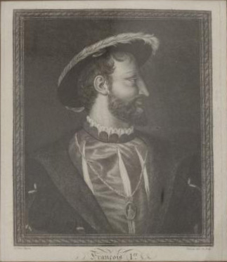 €60After Titian, 18th century. François Ier, black engraving, stamp of the Comte de Paris' sale at Drouot in 2000, 26 x 21.5 cm (10.23 x 8