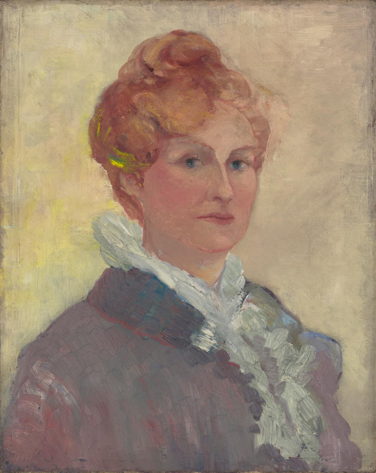 Katherine S. Dreier, Self-Portrait, 1911. Gift of Katherine S. Dreier.Photo courtesy of Yale University Art Gallery