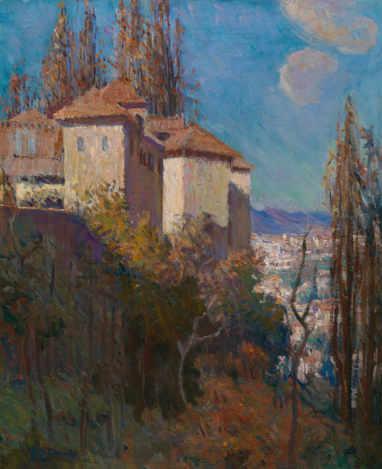 Mary Bradish Titcomb (1858–1927), The Alhambra, c. 1906, oil on canvas. Chrysler Museum of Art, Museum purchase with funds given in memory