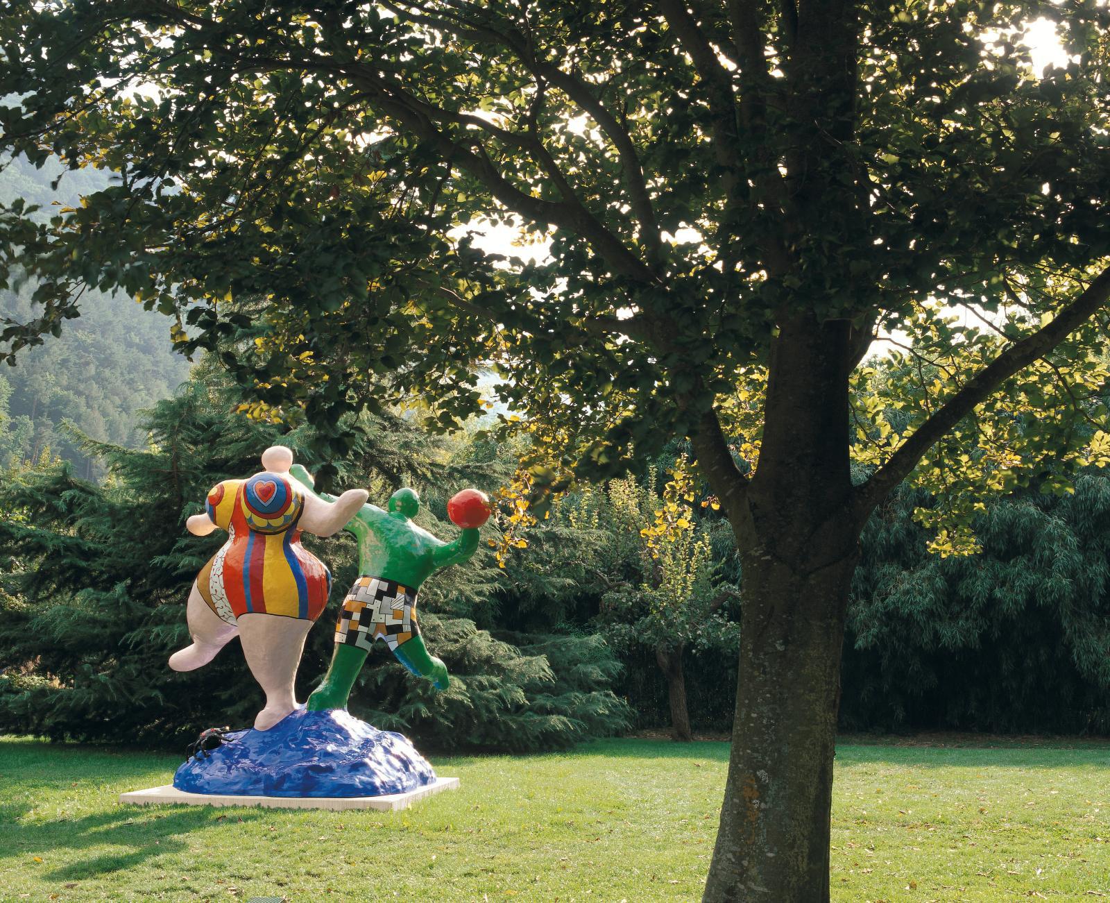Niki de Saint Phalle, Les Baigneuses (The Bathers).© Michel Darbellay