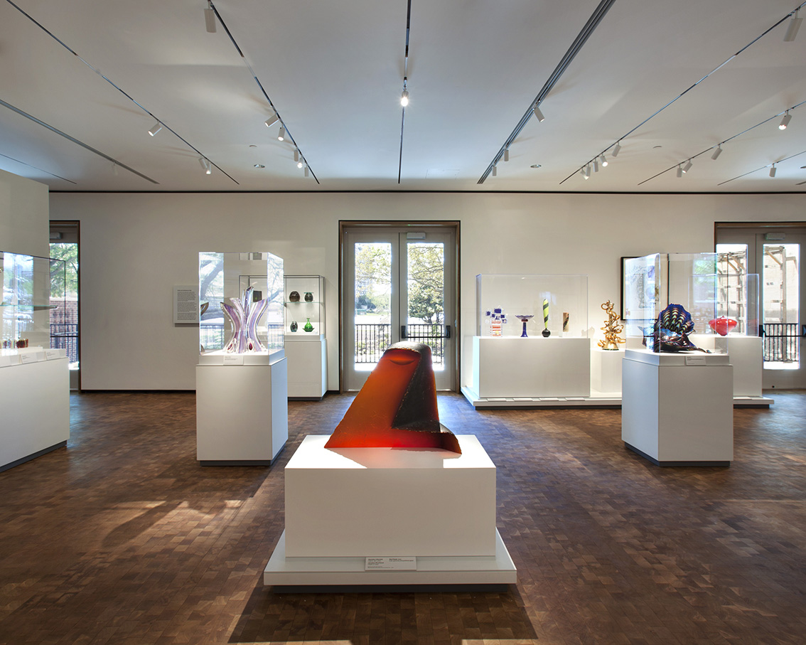 Glass Galleries.Courtesy of the Chrysler Museum, Photo by Ed Pollard