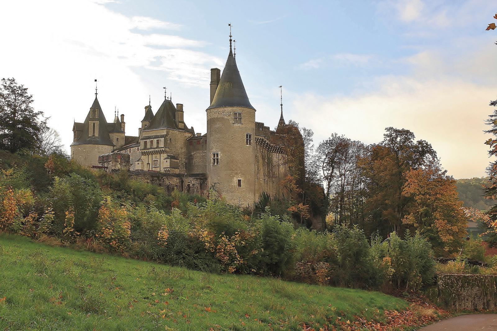 Vue sur l'entrée du château.©Manuel Desbois