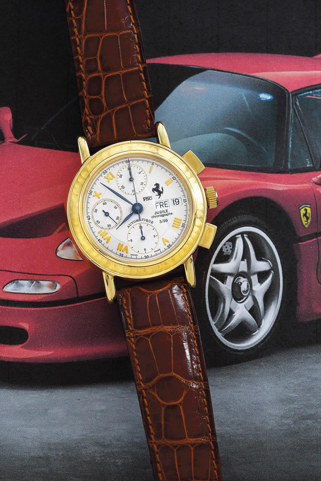 Incontournable: une montre de pilote! Les grandes maisons horlogères veulent toutes fournir les marques automobiles en instruments à l'i