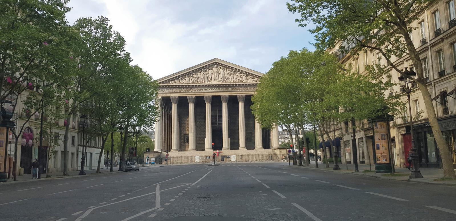 Church of the Madeleine, Paris, 8th arrondissement.ARR