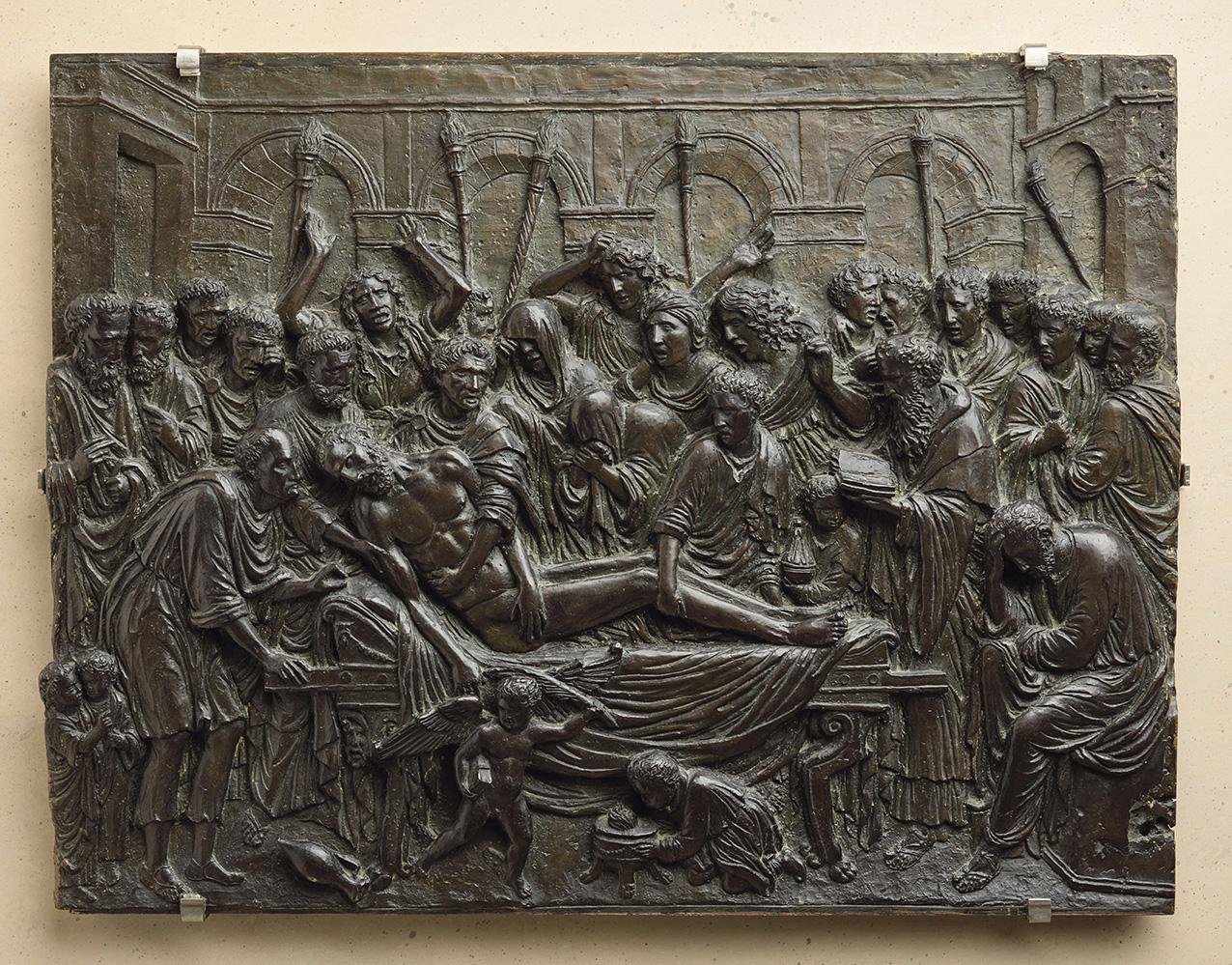 Andrea Briosco, aka Riccio (1470-1532), Death, c. 1515, bronze, 37 x 49 cm/14.5 x 19.3 in, Paris, Musée du Louvre.© RMN-Grand Palais (Louv