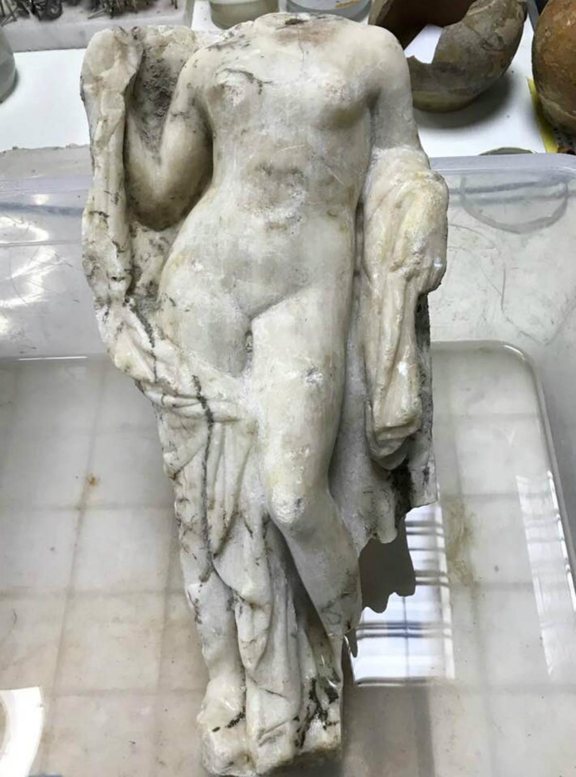 Aphrodite, marbre, Thessalonique.