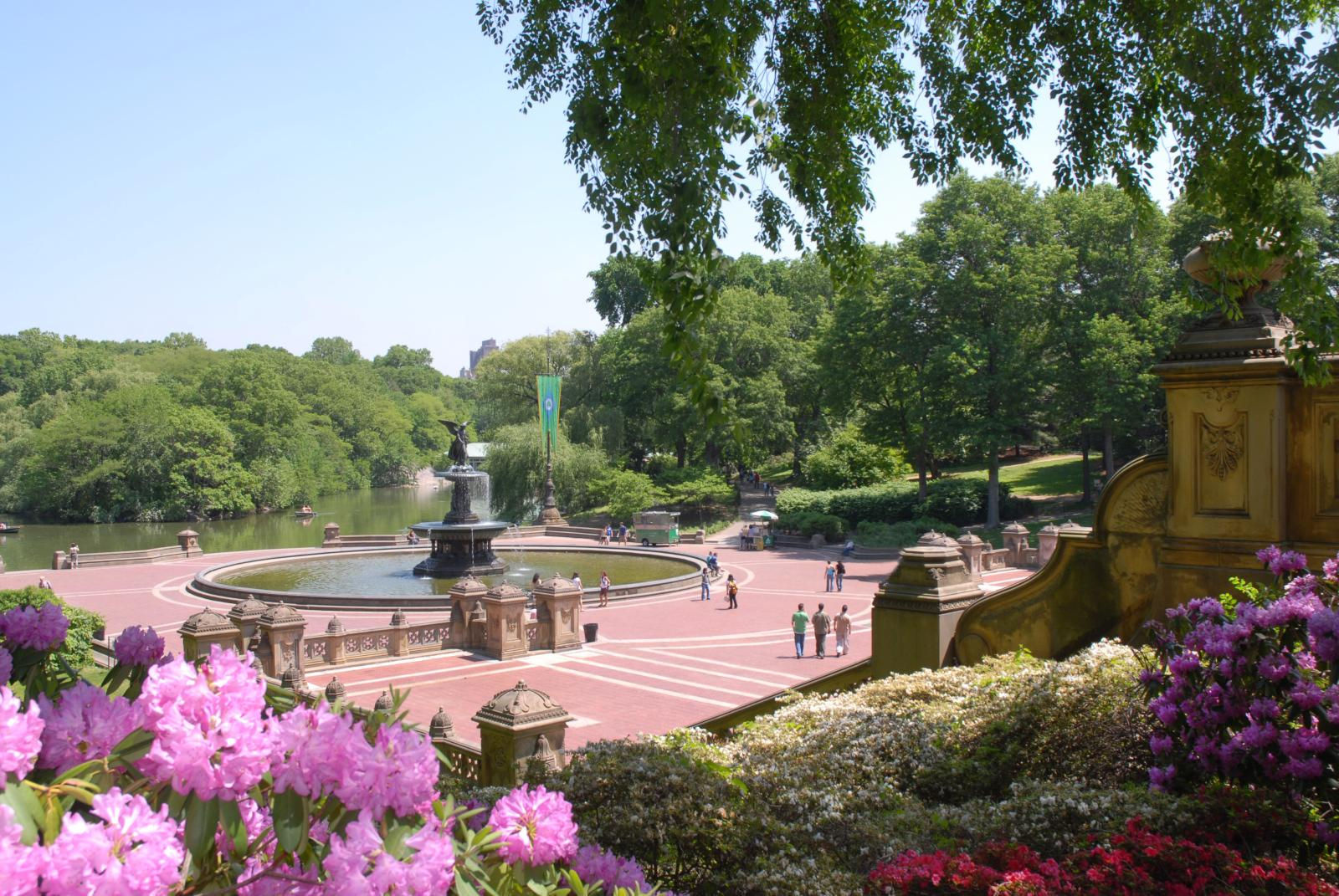 Bethesda Terrace and Fountain.Courtesy of the Central Park Conservancy