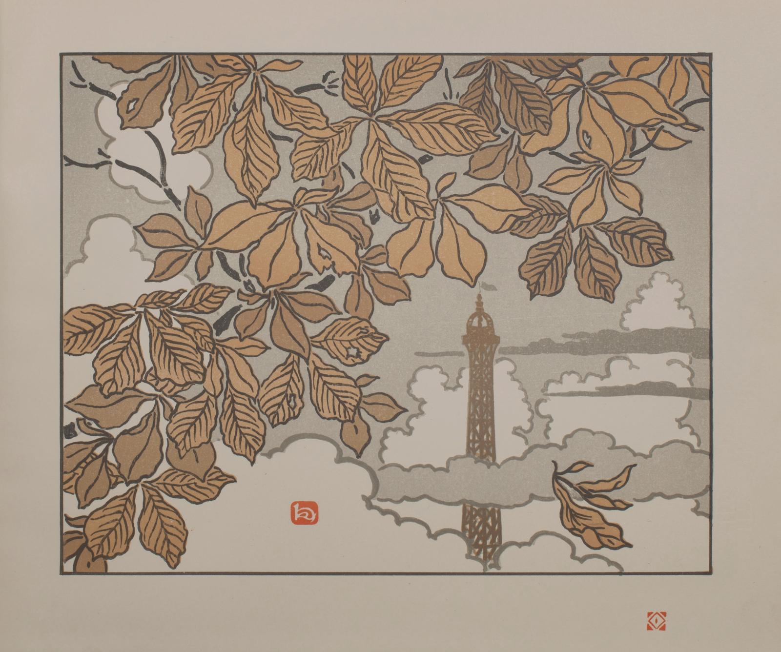 Les estampes japonaises connaissent un engouement extraordinaire parmi les artistes de la fin du XIXesiècle. Leur influence fut essentiel