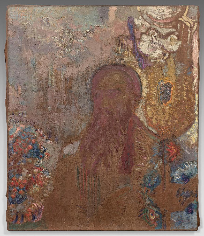 Odilon Redon, Le Prophète (The Prophet), oil on canvas, 54 x 46 cm/21.3 x 18.1 in.Estimate: €40,000/60,000