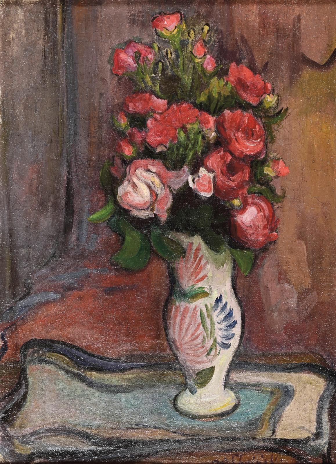 Né en Pologne près de Lodz, Wladyslaw Slewinski (1854-1918) est venu étudier la peinture à Paris en 1888, s'inscrivant à l'académie Julian