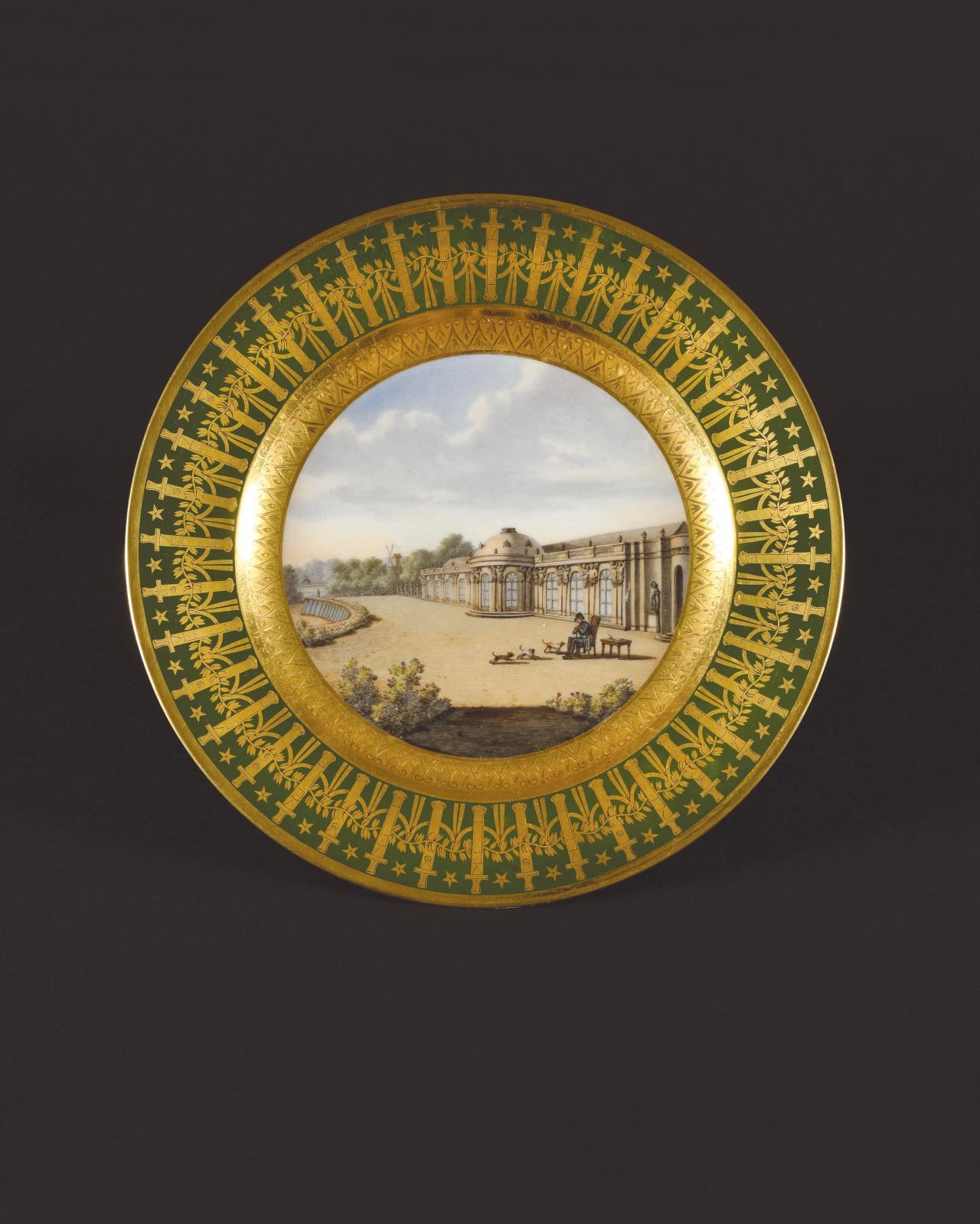 Le second meilleur résultat revenait au service particulier de Napoléon emporté à Sainte-Hélène, celui «des Quartiers généraux» fabriqué