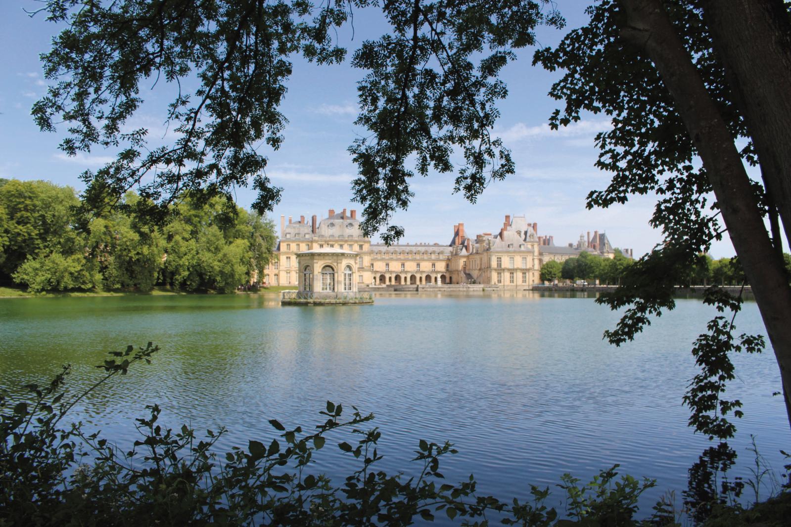 Le château de Fontainebleau, cadre de la 10e édition du Festival de l'histoire de l'art.@ MATHILDE HEROUET