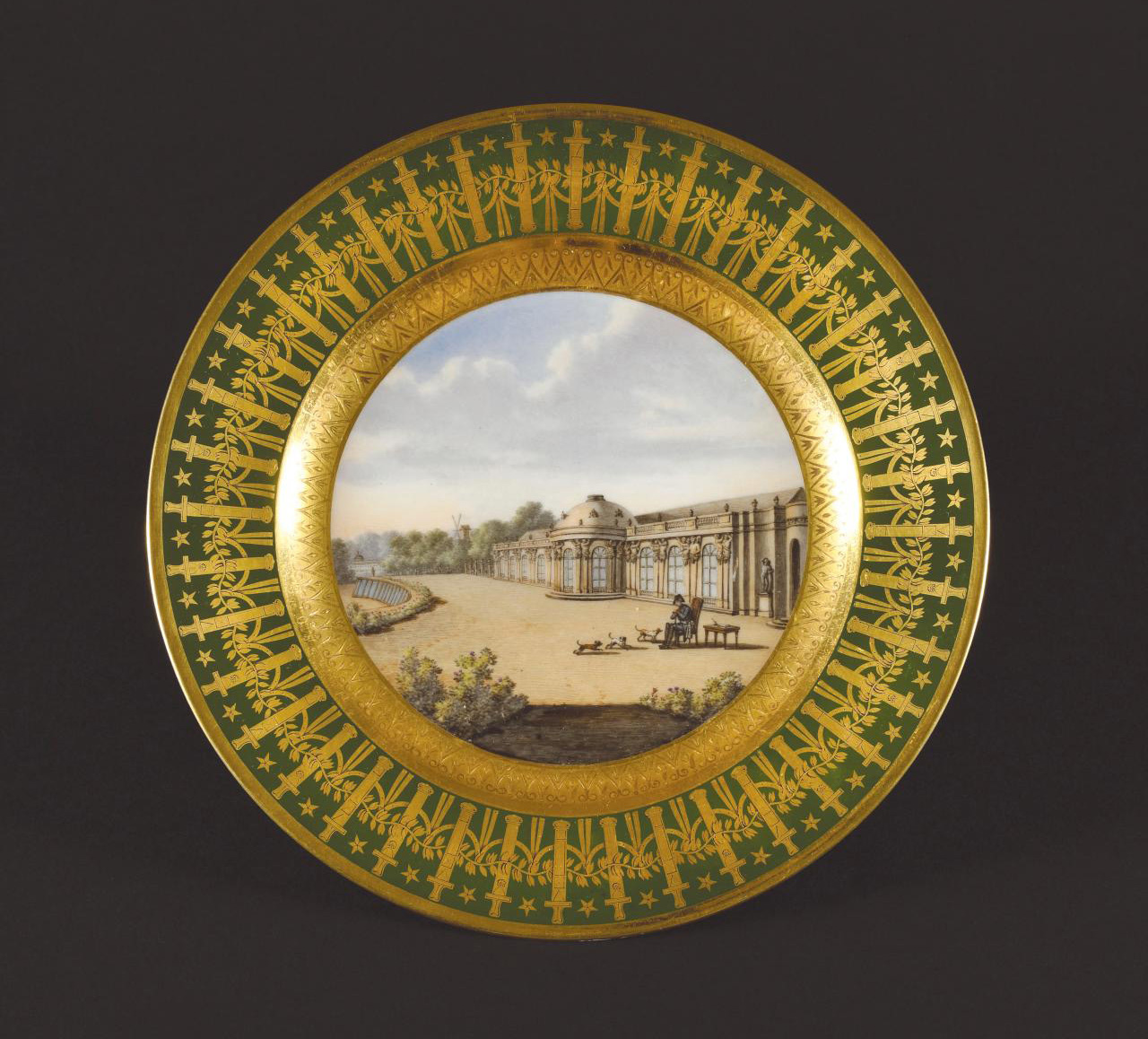 """The second-highest result was for """"Les Quartiers généraux"""", the private Sèvres tableware service Napoleon brought with him to Saint Helena"""