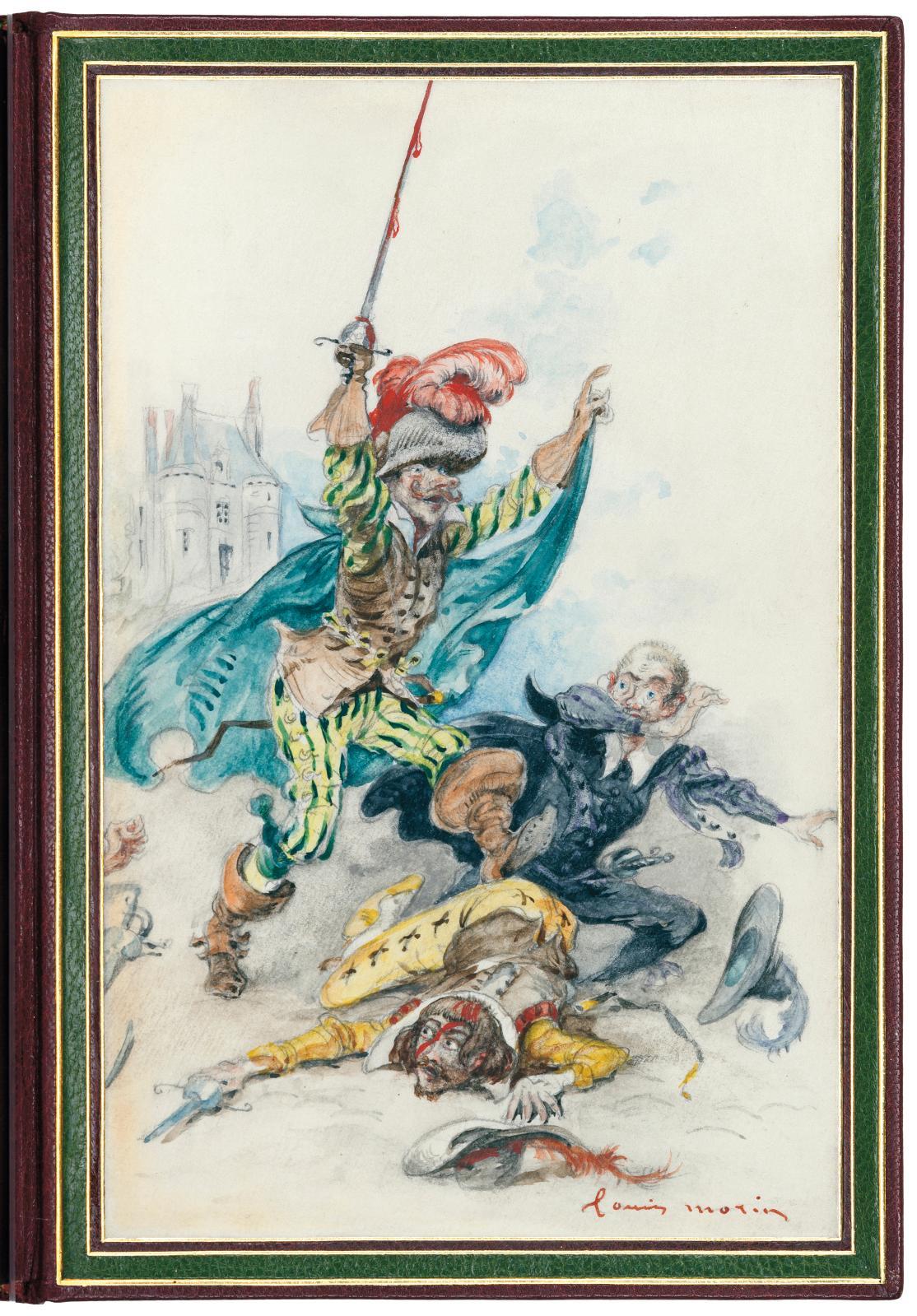 Edmond Rostand (1868-1918), Cyrano de Bergerac, comédie héroïque en cinq actes, en vers, Paris, librairie Charpentier et Fasquelle, 1898,