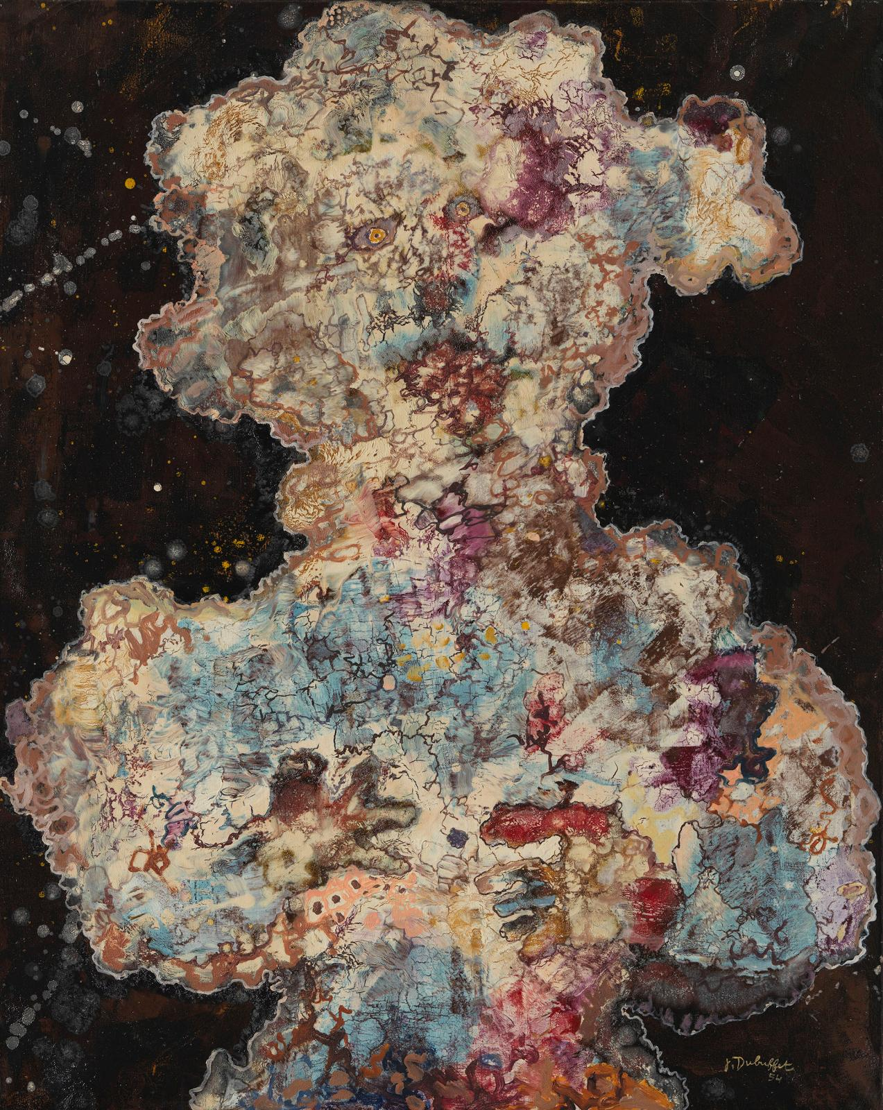 Jean Dubuffet, The Extravagant One (L'Extravagante), July 1954. Private Collection© ADAGP, Paris and DACS, London 2020. Photograph by Jose