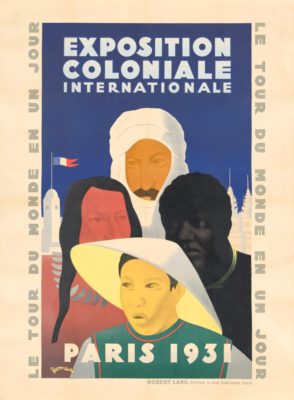 Victor Jean Desmeures (French, 1895–1978), Poster for the Exposition Coloniale Internationale, Paris, 1931. Image courtesy of Getty Publi