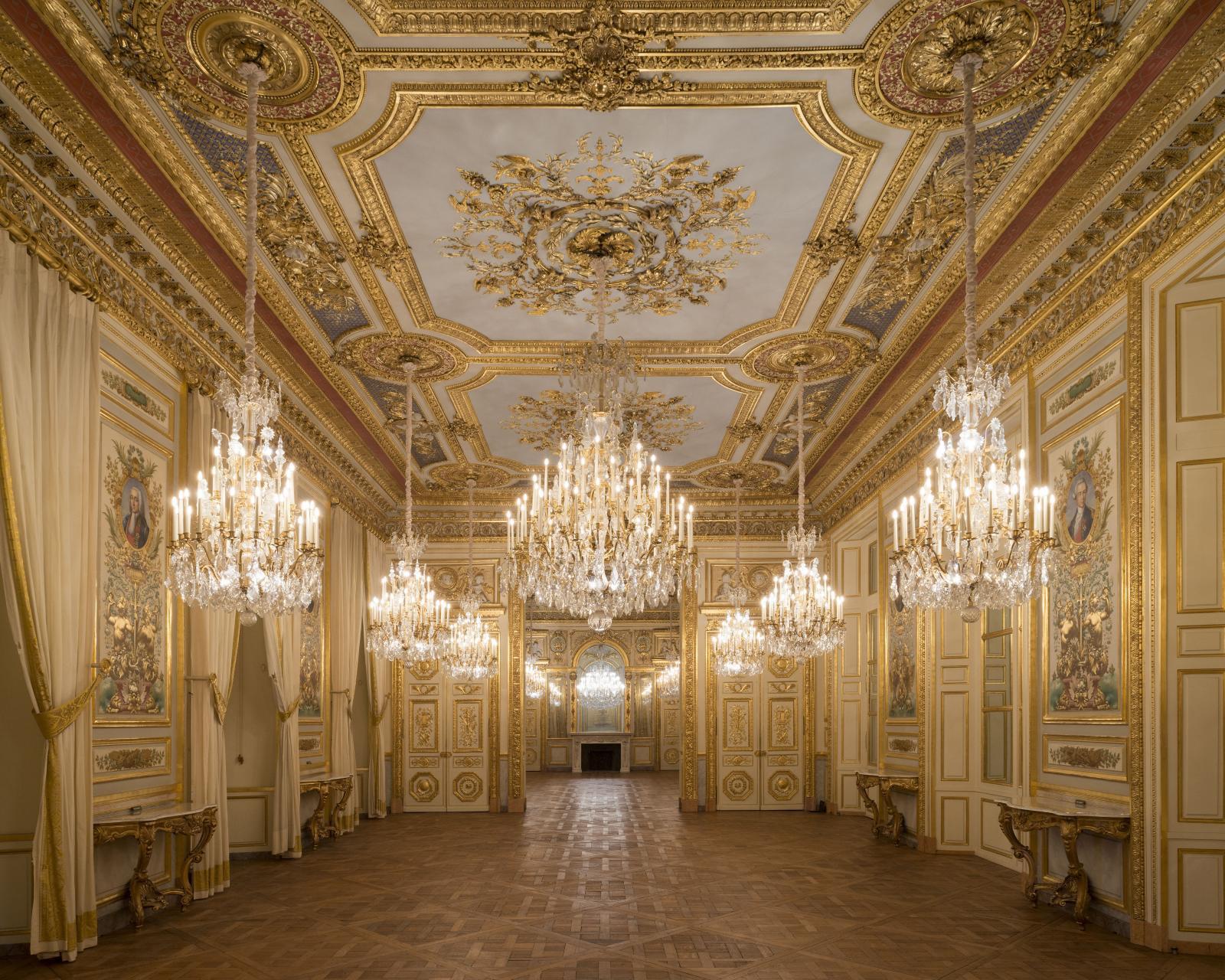 Salon des amiraux and salon d'honneur, Hôtel de la Marine, Paris.© Ambroise Tézenas CMN