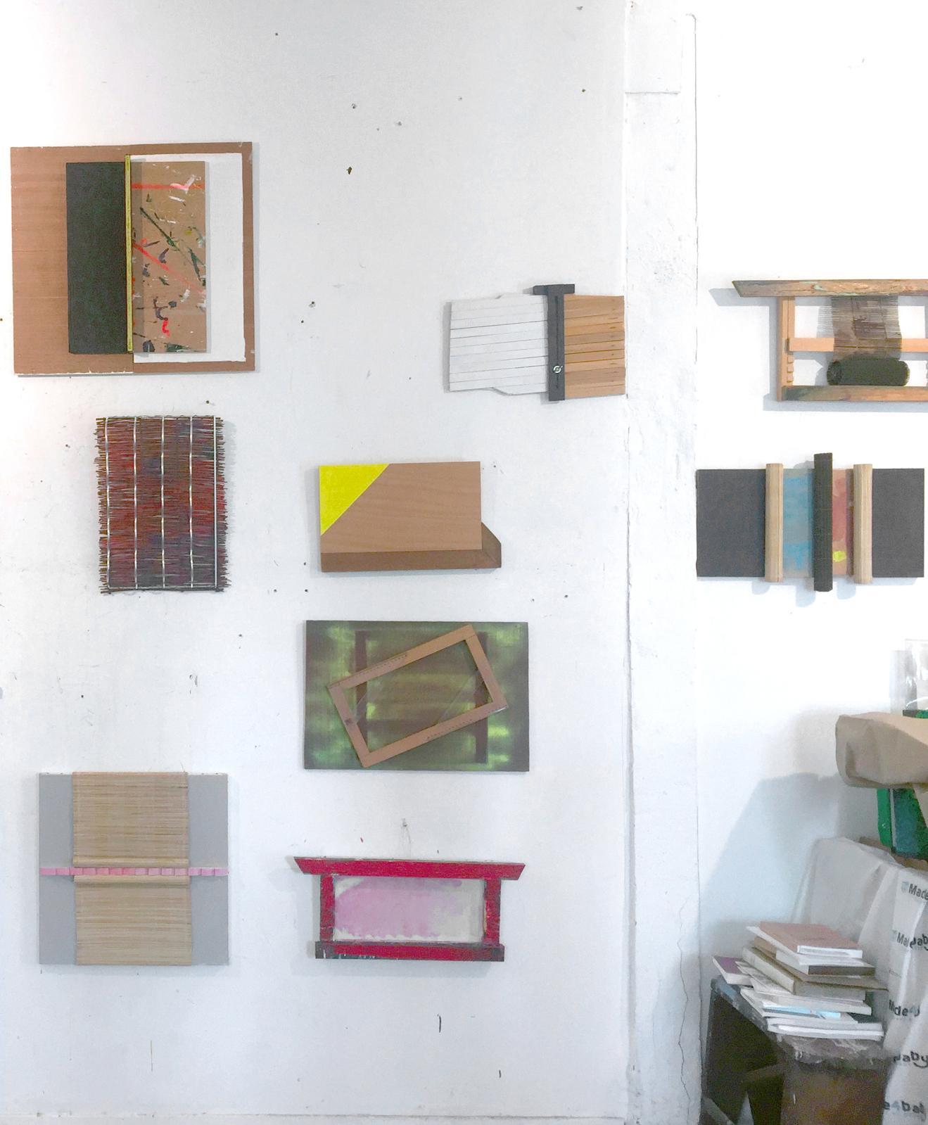 Daniel Dezeuze's studio, 2021, Sète© Courtesy Templon Paris-Brussels