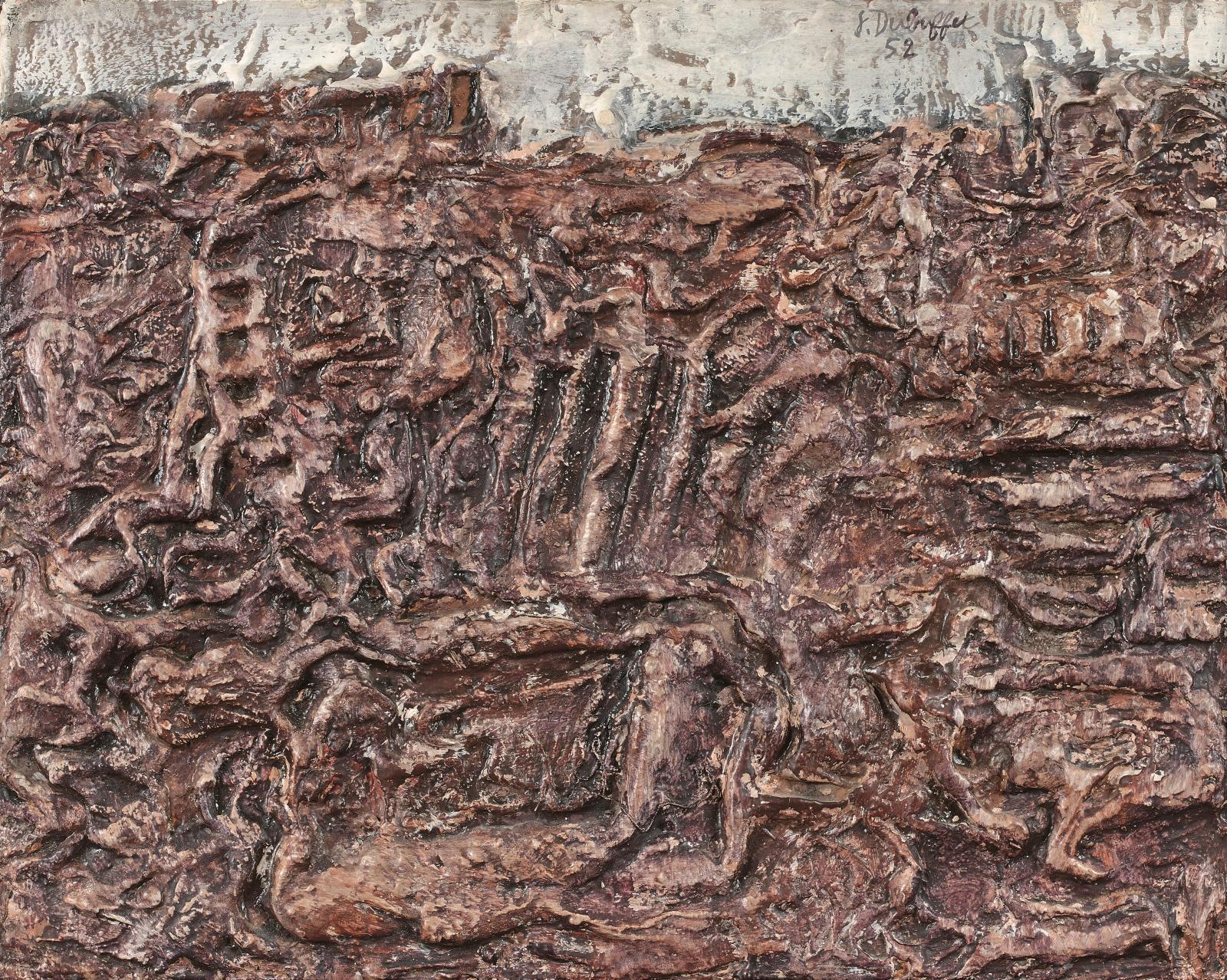 James F. Bismuth ne craignait pas d'associer sur ses murs les anciens et les modernes, bousculant les codes et affirmant sa curiosité natu