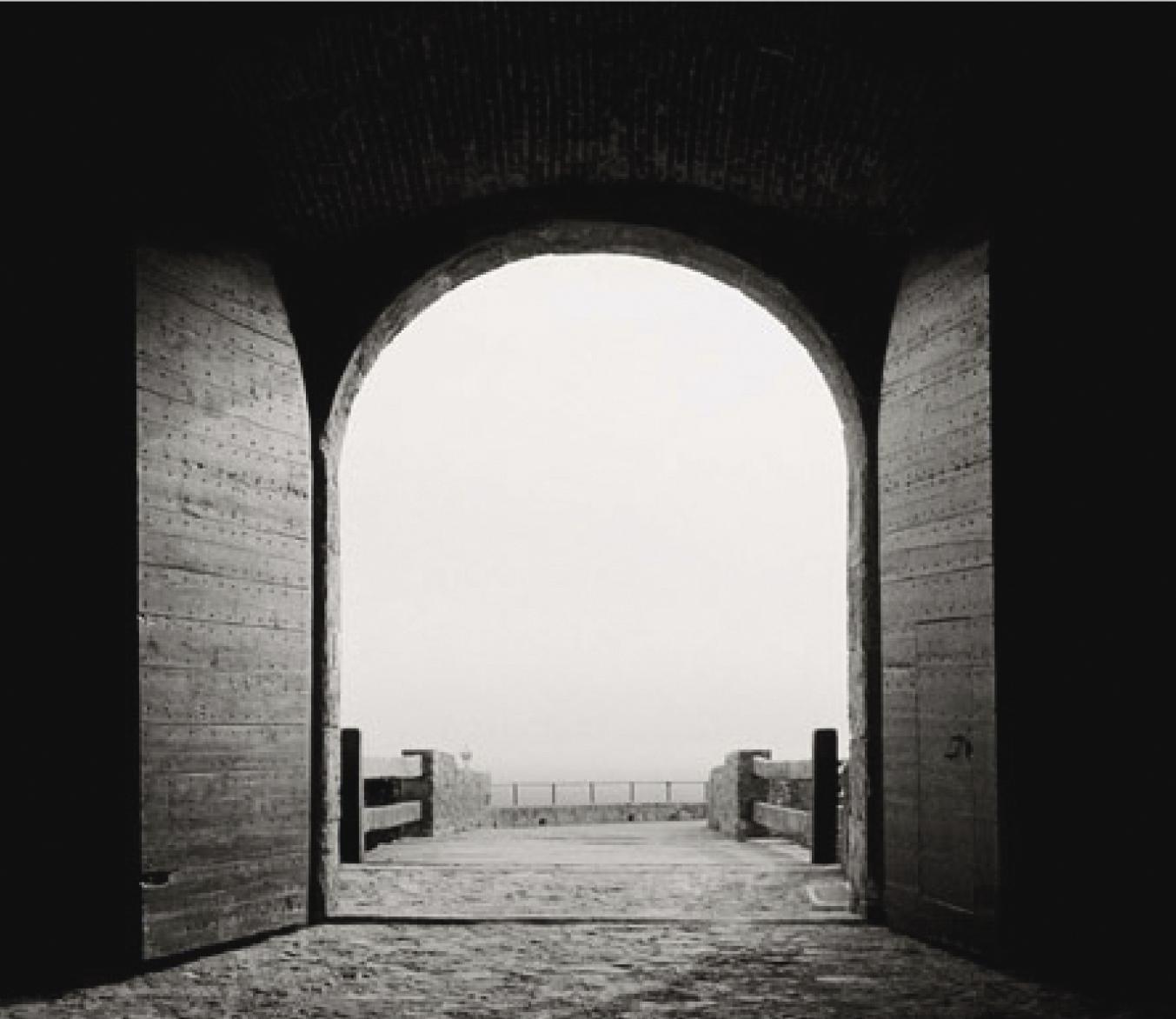 Michel Collet, Dernière vision du Caravage avant la mort, 1996, tirage argentique, 30x40cm. © Michel Collet