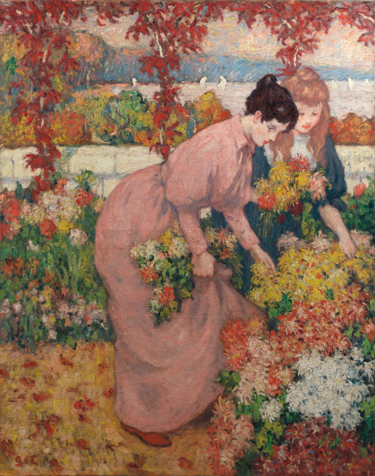 Georges d'Espagnat, Après-midi d'automne, vers 1899, huile sur toile, collection particulière. Photo Archives Durand-Ruel. © Durand-Ruel &