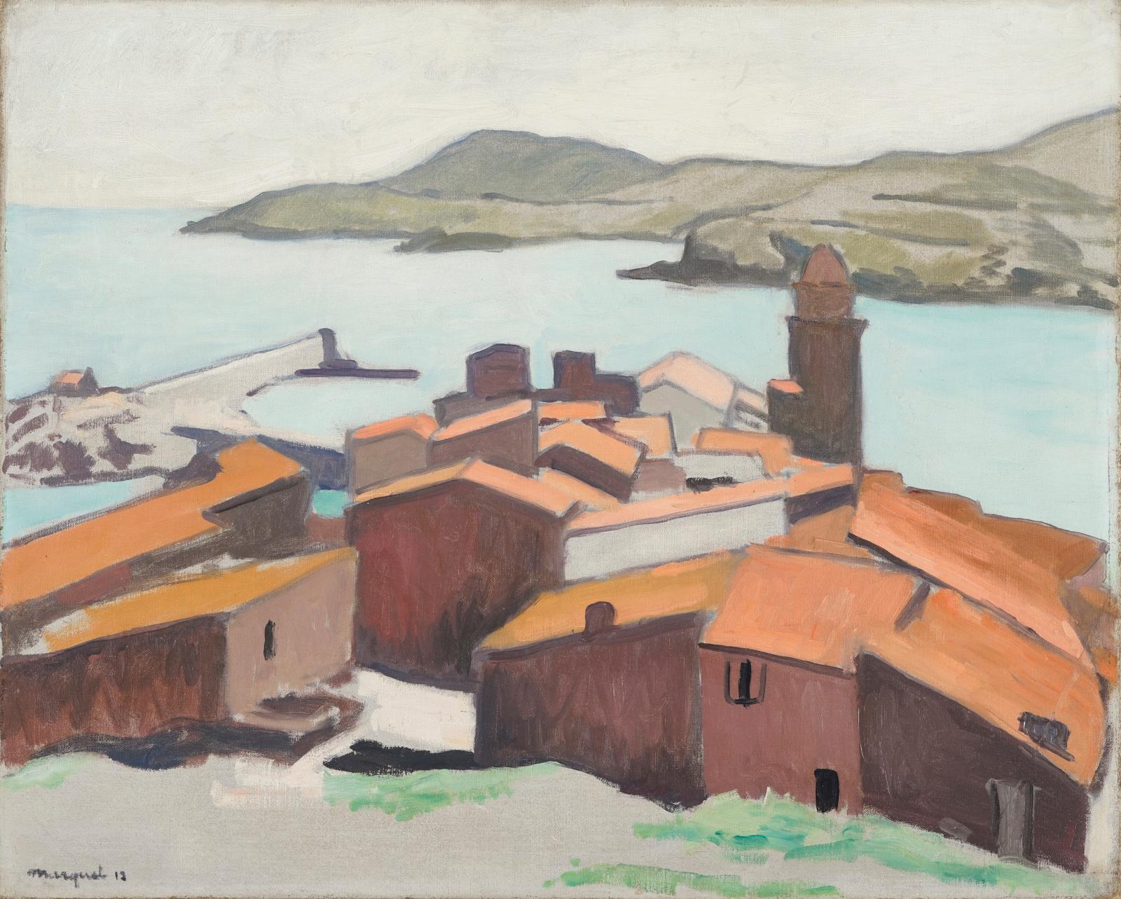 Albert Marquet (1975-1947), Collioure, 1912, huile sur toile, 61 x 67 cm. Estimation: 70000/120000 €