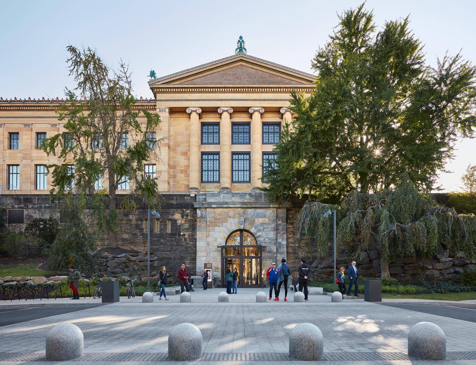 The North Entrance, for the first time in decades, was restored to public use in 2019.Steve Hall © Hall + Merrick Photographers, 2019, cou