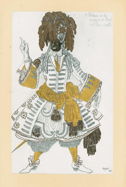 €3,125Léon Bakst (1866-1924), L'Œuvre de Léon Bakst pour La Belle au bois dormant, ballet en cinq actes d'après le conte de Perrault (The