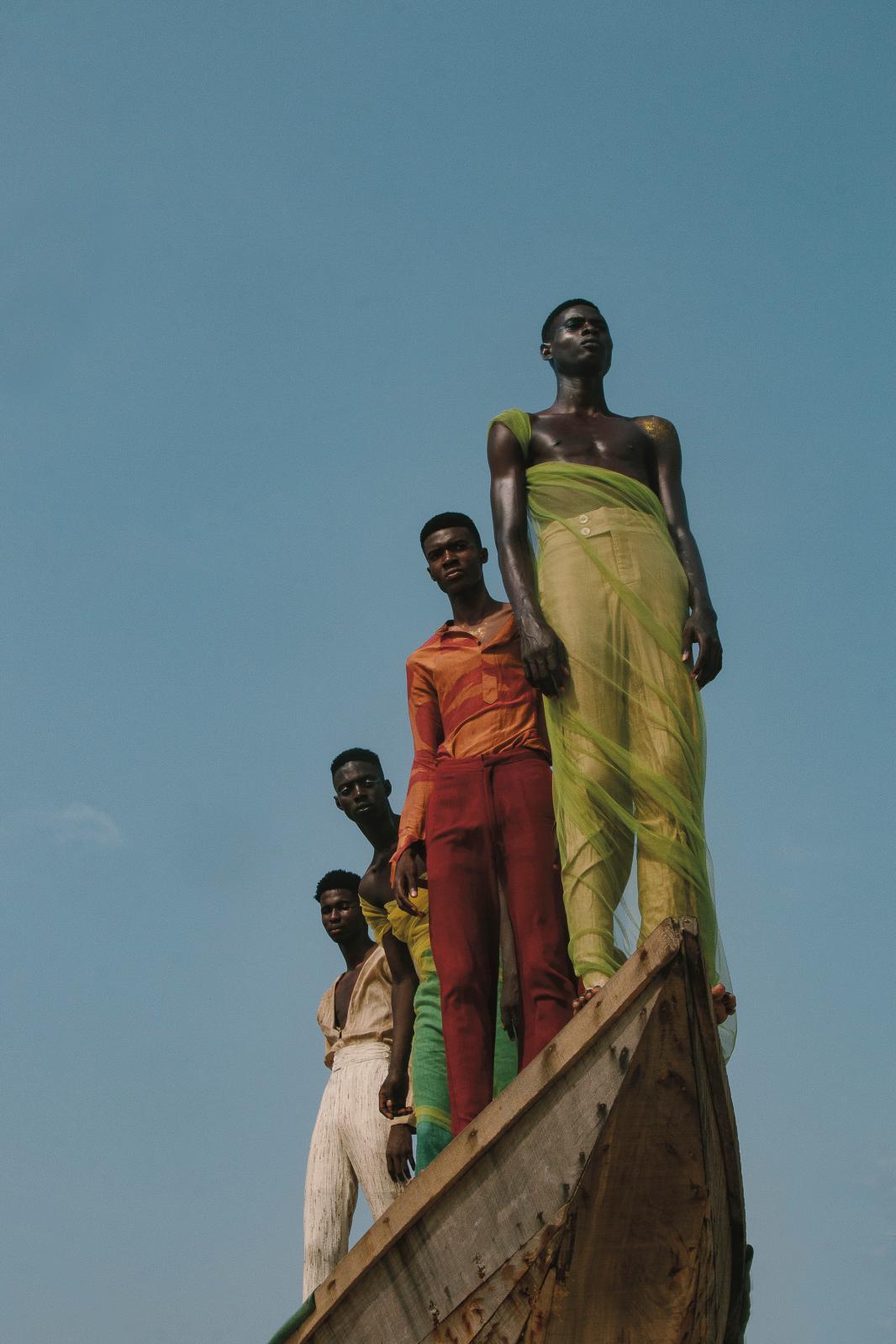 Daniel Obasi, Instants de jeunesse, Lagos, Nigeria, 2019.