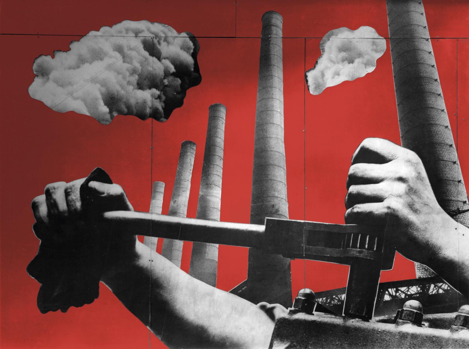 Charlotte Perriand, Fernand Léger, Photomontage pour le pavillon du ministère de l'Agriculture, Exposition internationale des arts et tech