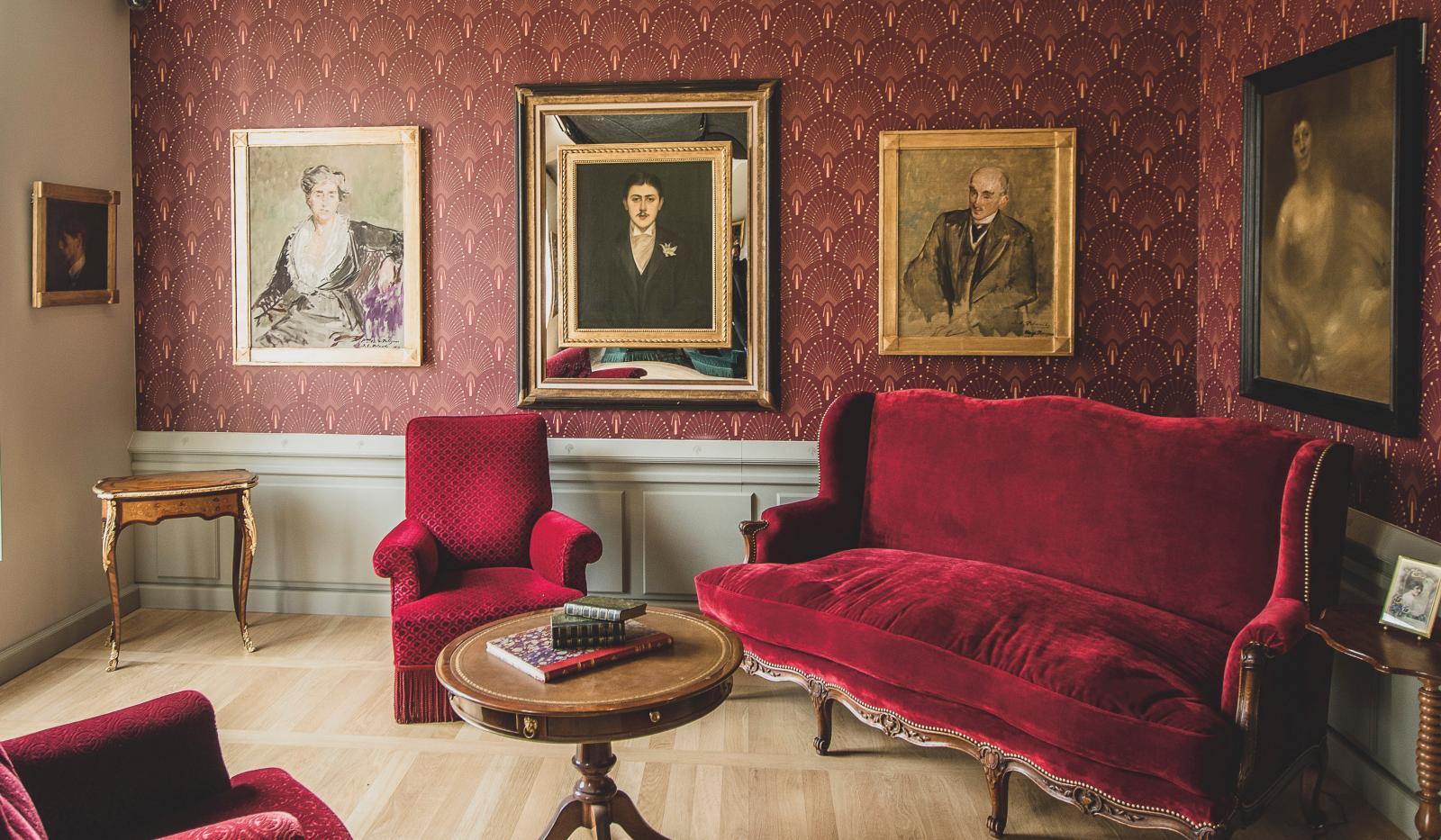 Le salon de réception.©Ville de Cabourg