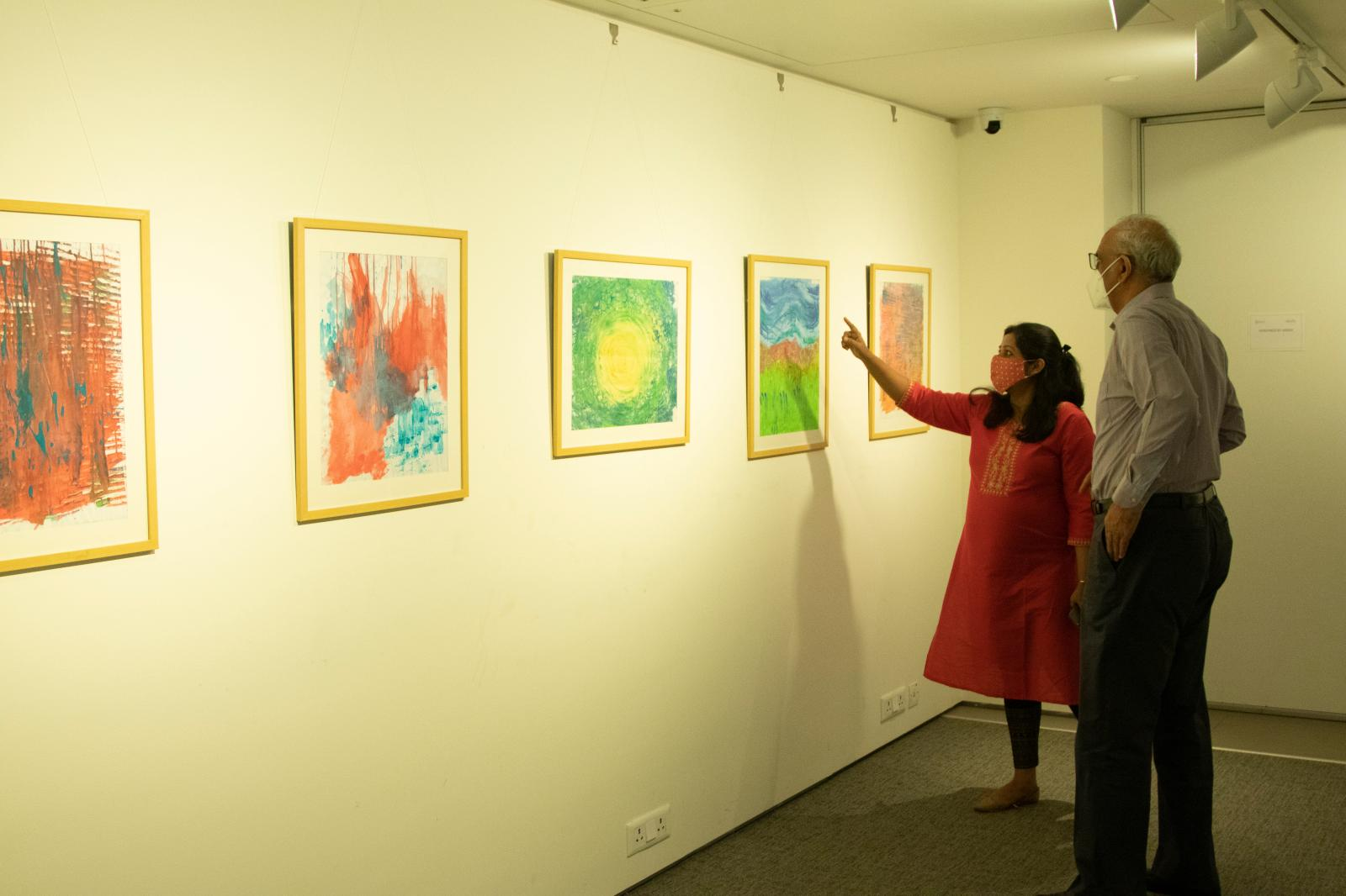 KCC DEAI - Diversity & Inclusion - Exhibition of Artists who have Autism.Courtesy of Kolkata Center for Creativity.