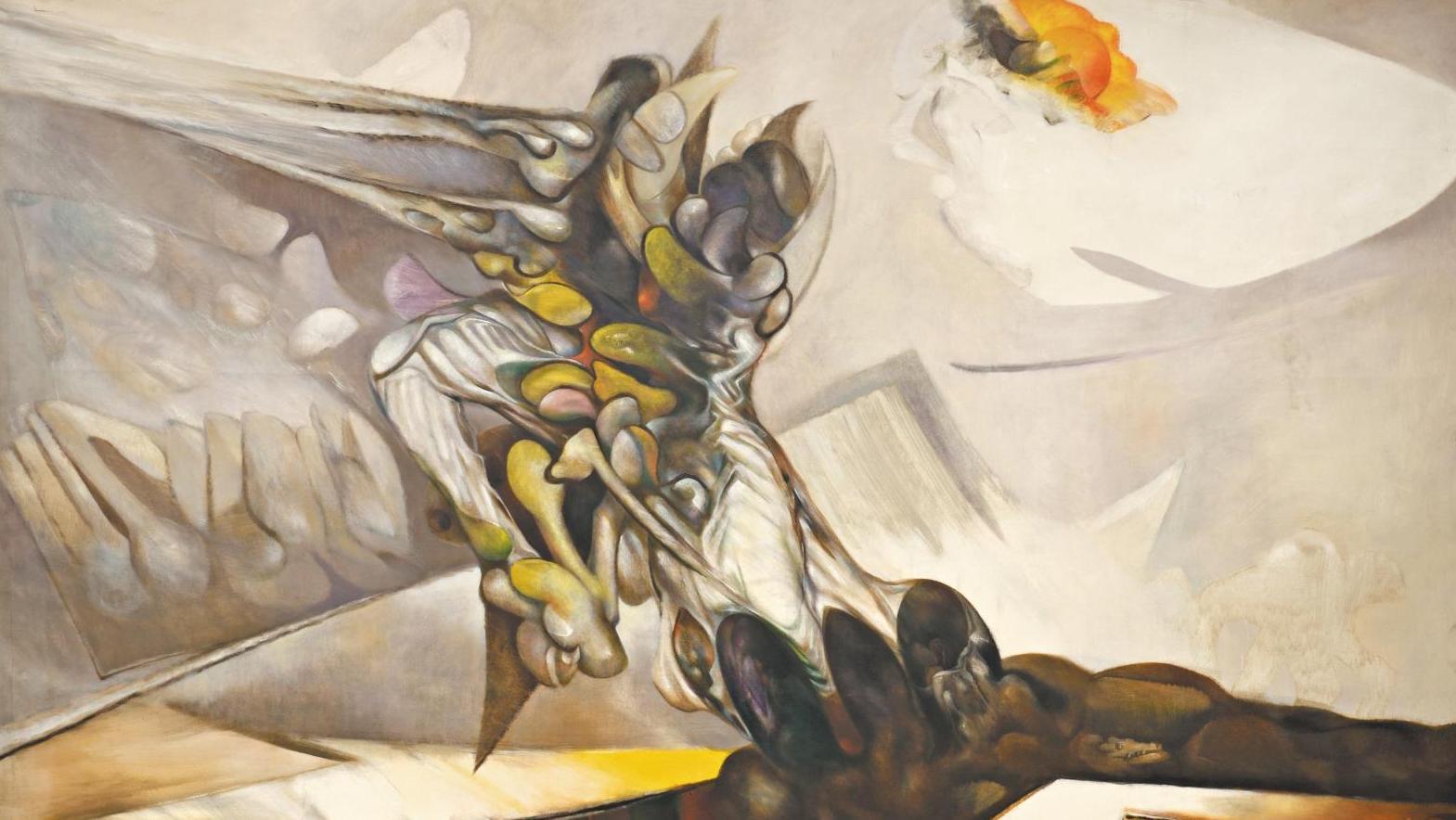 Tenue D Artiste Peintre après-vente record français pour artiste péruvien