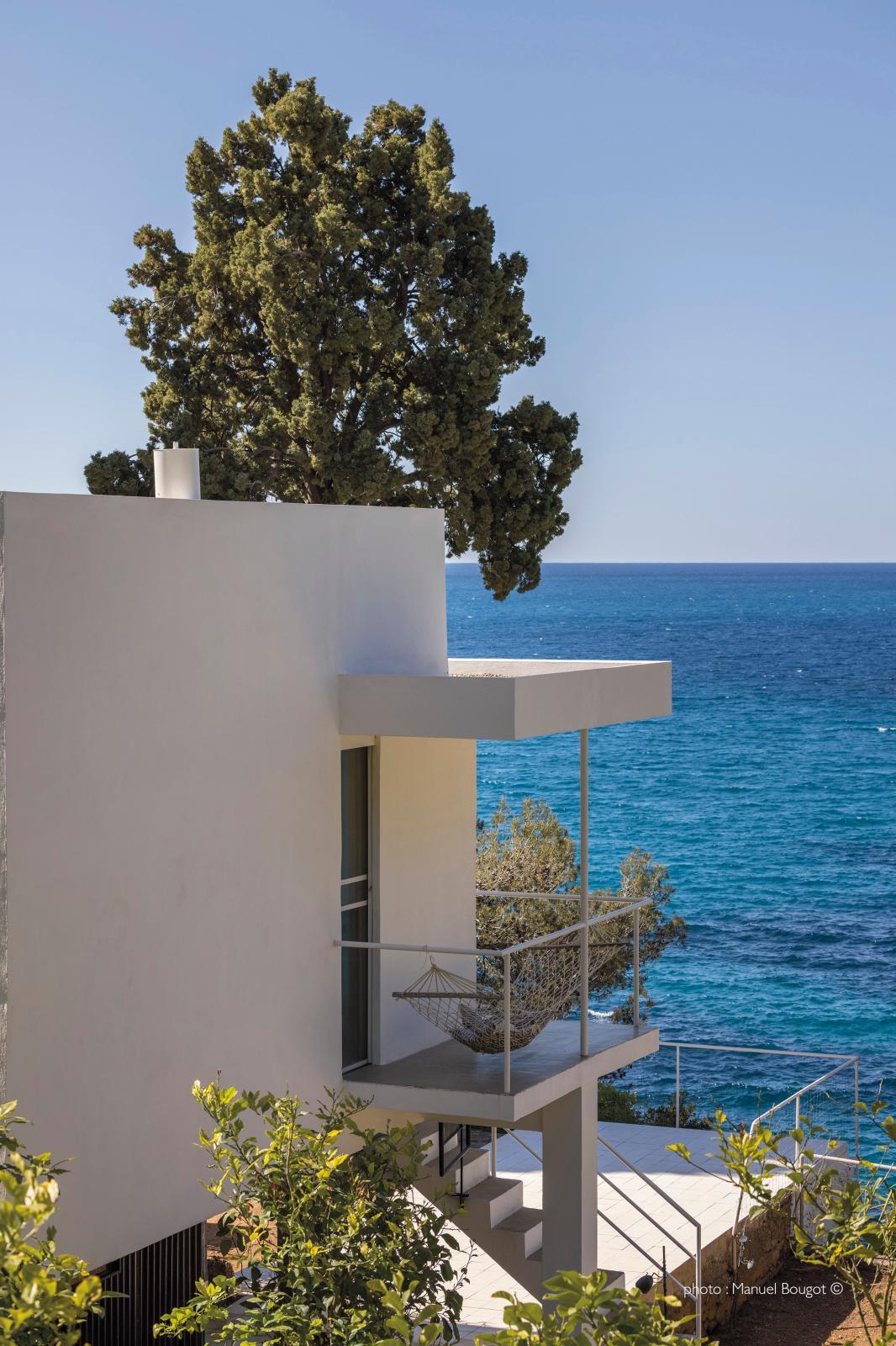 La vue depuis le balcon du «coin alcôve». © manuel bougot
