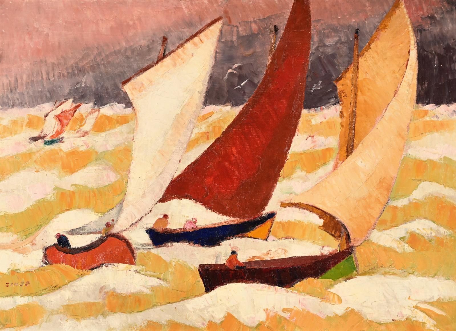 Il est plus connu pour ses paysages hivernaux francs-comtois, sa région natale. Pourtant, Jules-Émile Zingg(1882-1942) a également brossé