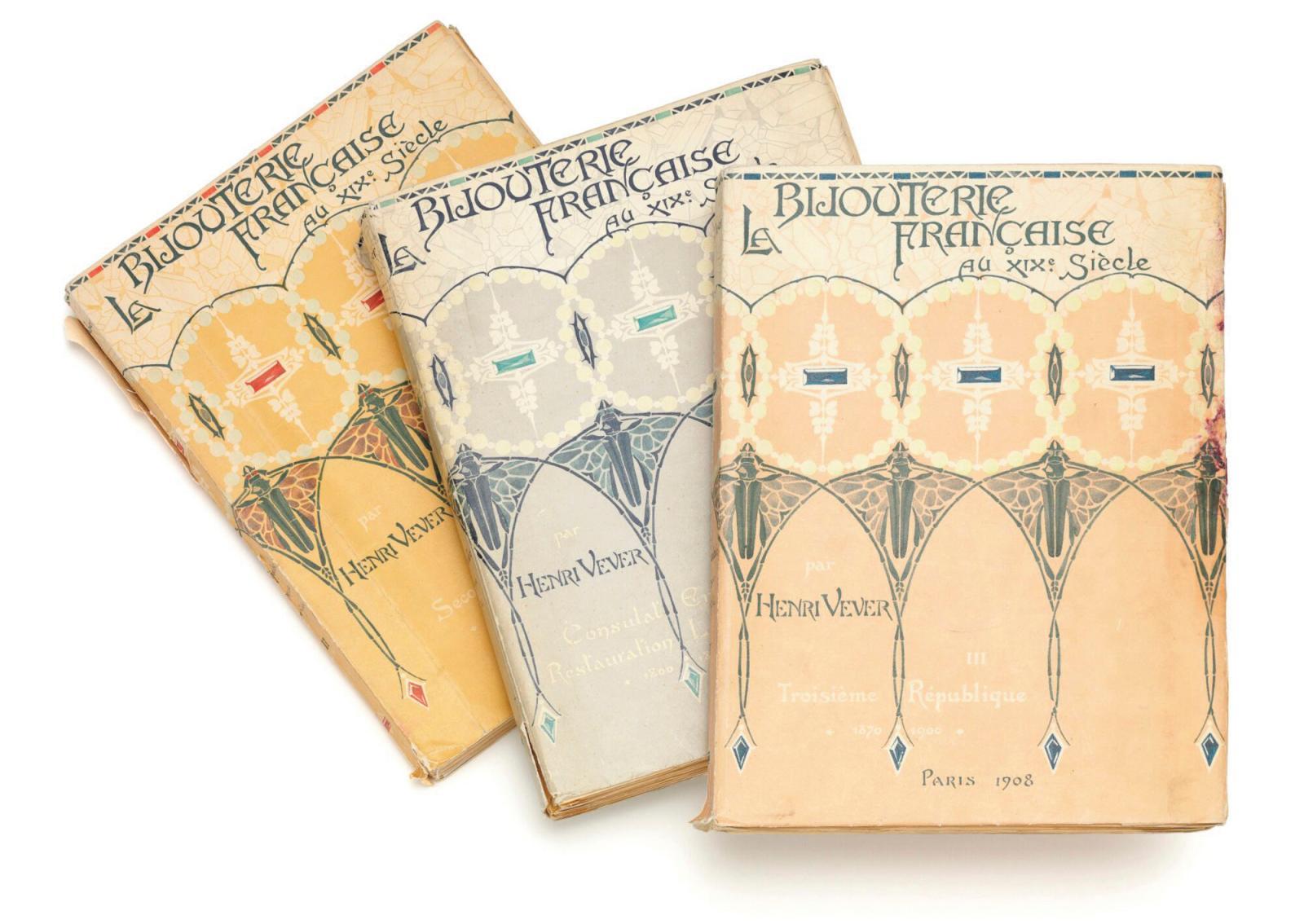 Les trois tomes de cet ouvrage majeur, publié par H. Floury, sont parus entre 1906 et 1908.DR