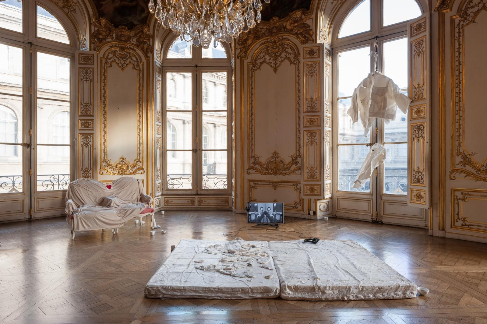 Exhibition view, AWARE Prize 2018, Archives Nationales, 2018Photo: Emile Ouromov