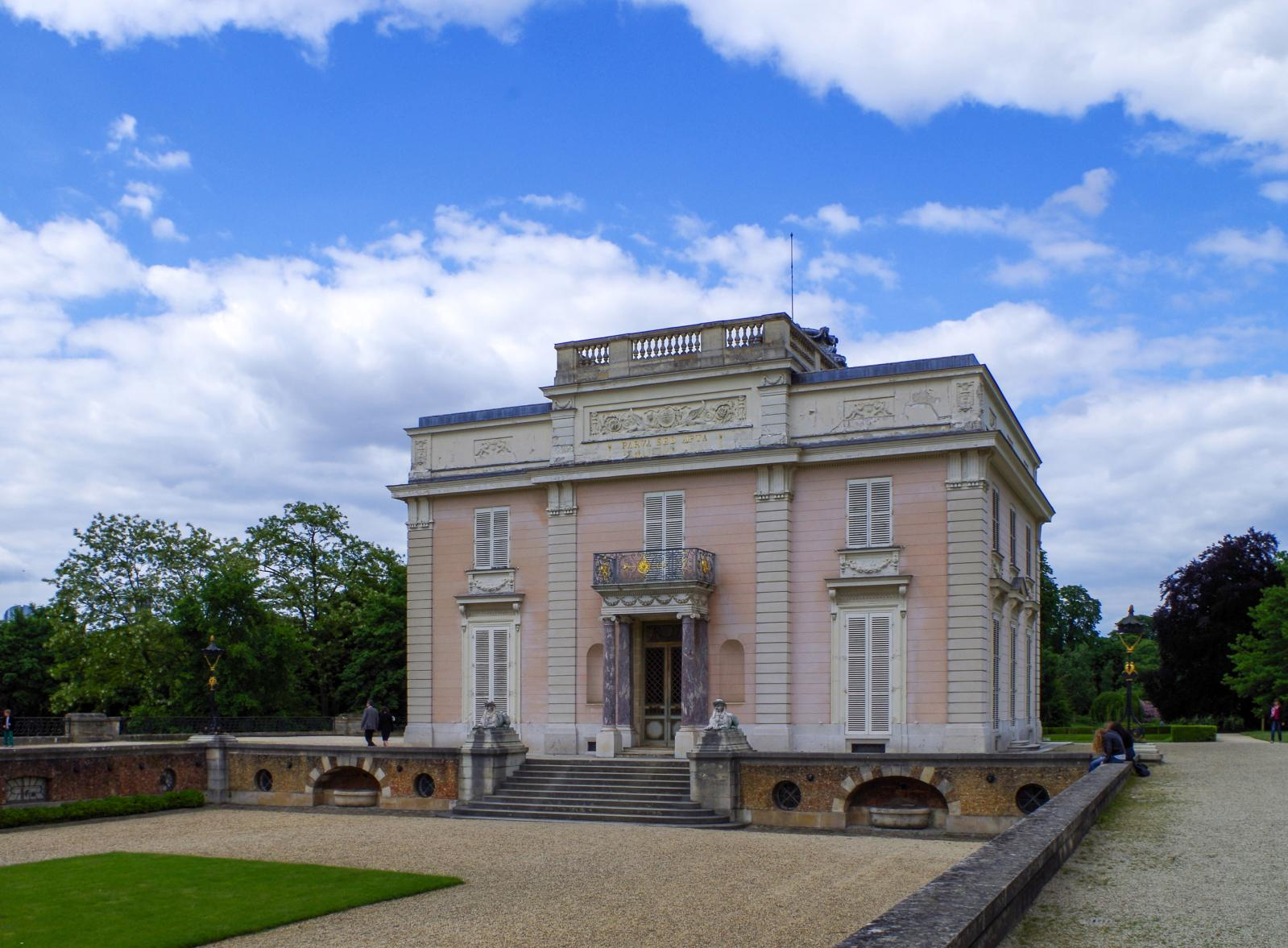 Entrance to the Château de Bagatelle, ParisPhoto by Dinkum