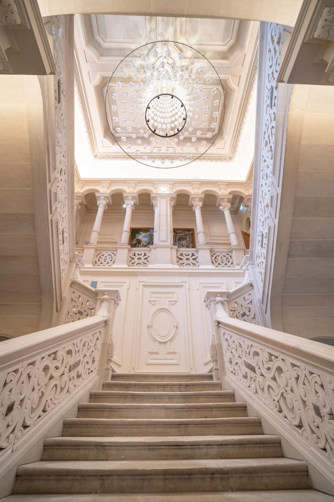 L'escalier d'honneur.© Noémie Cozette/Ville d'Épernay